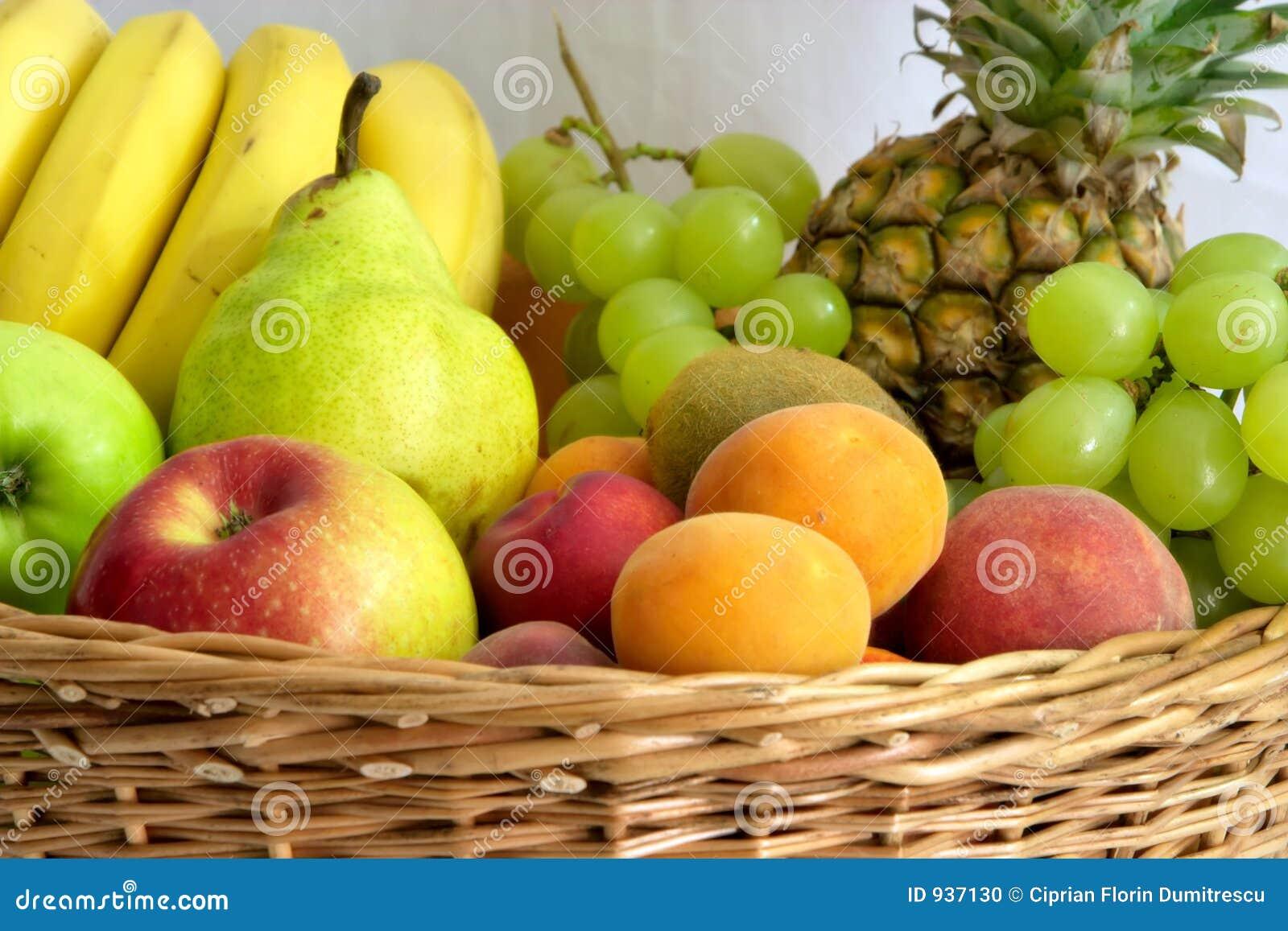 Recolhimento das frutas