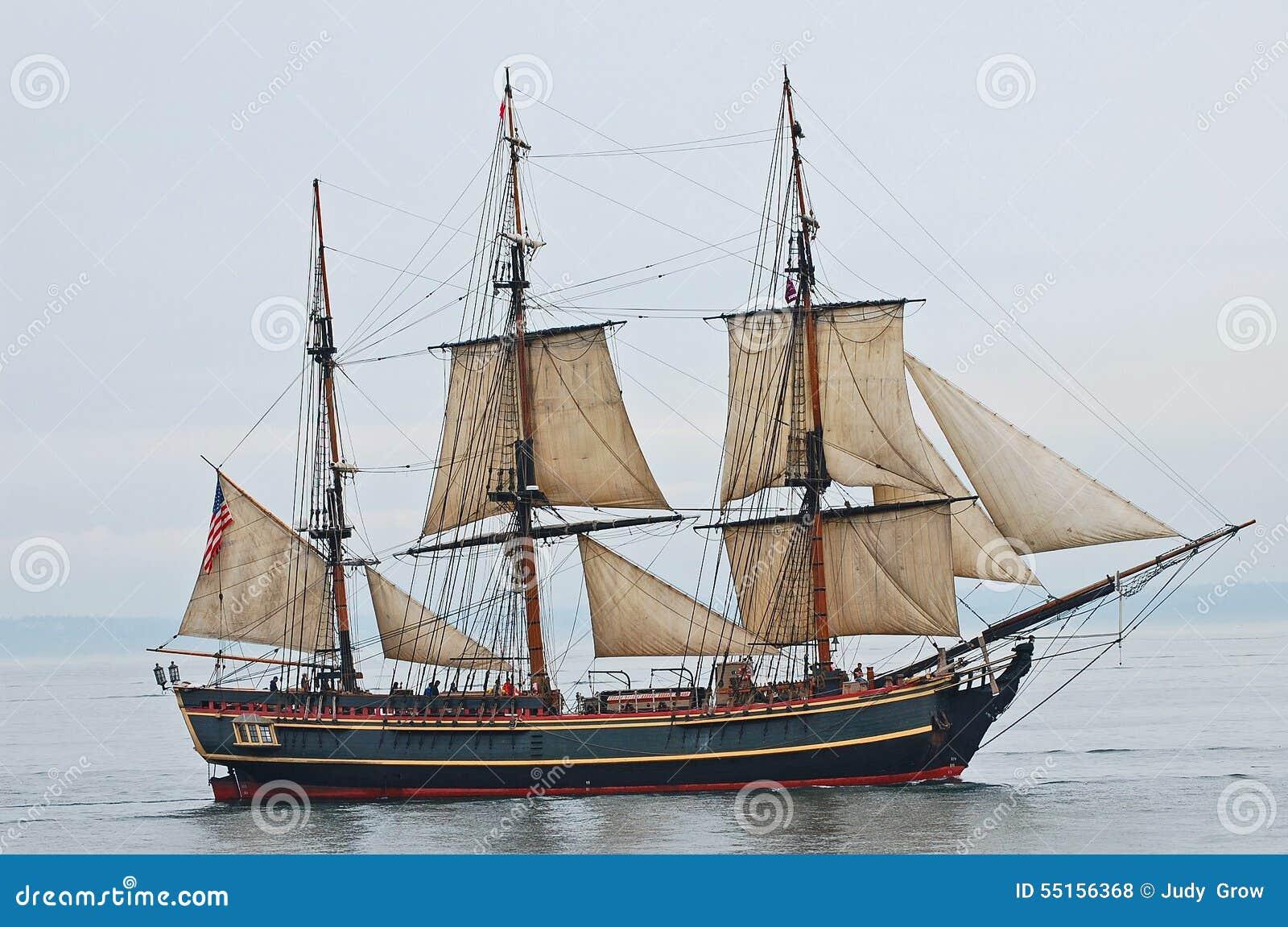 Recompensa alta da réplica do navio