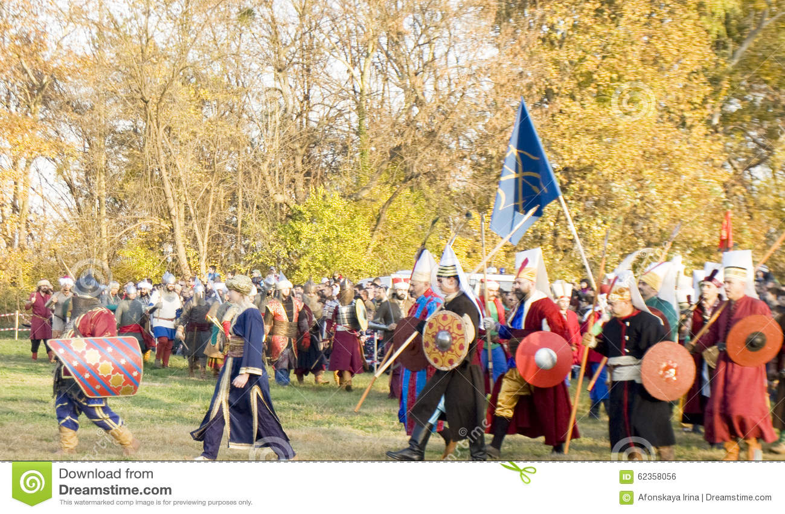 Reconstitution historique à Varna