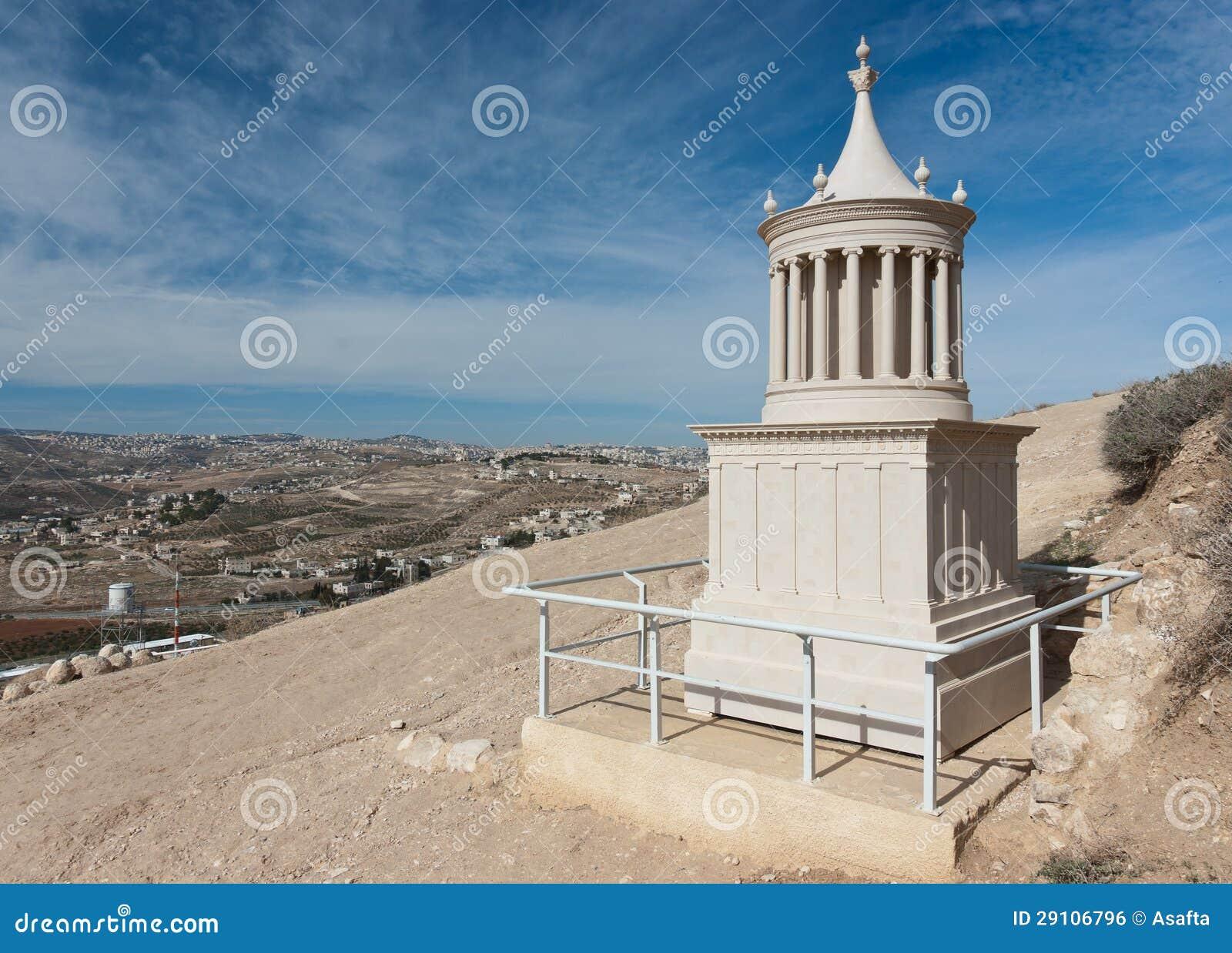 Reconstrução do túmulo do rei Herod