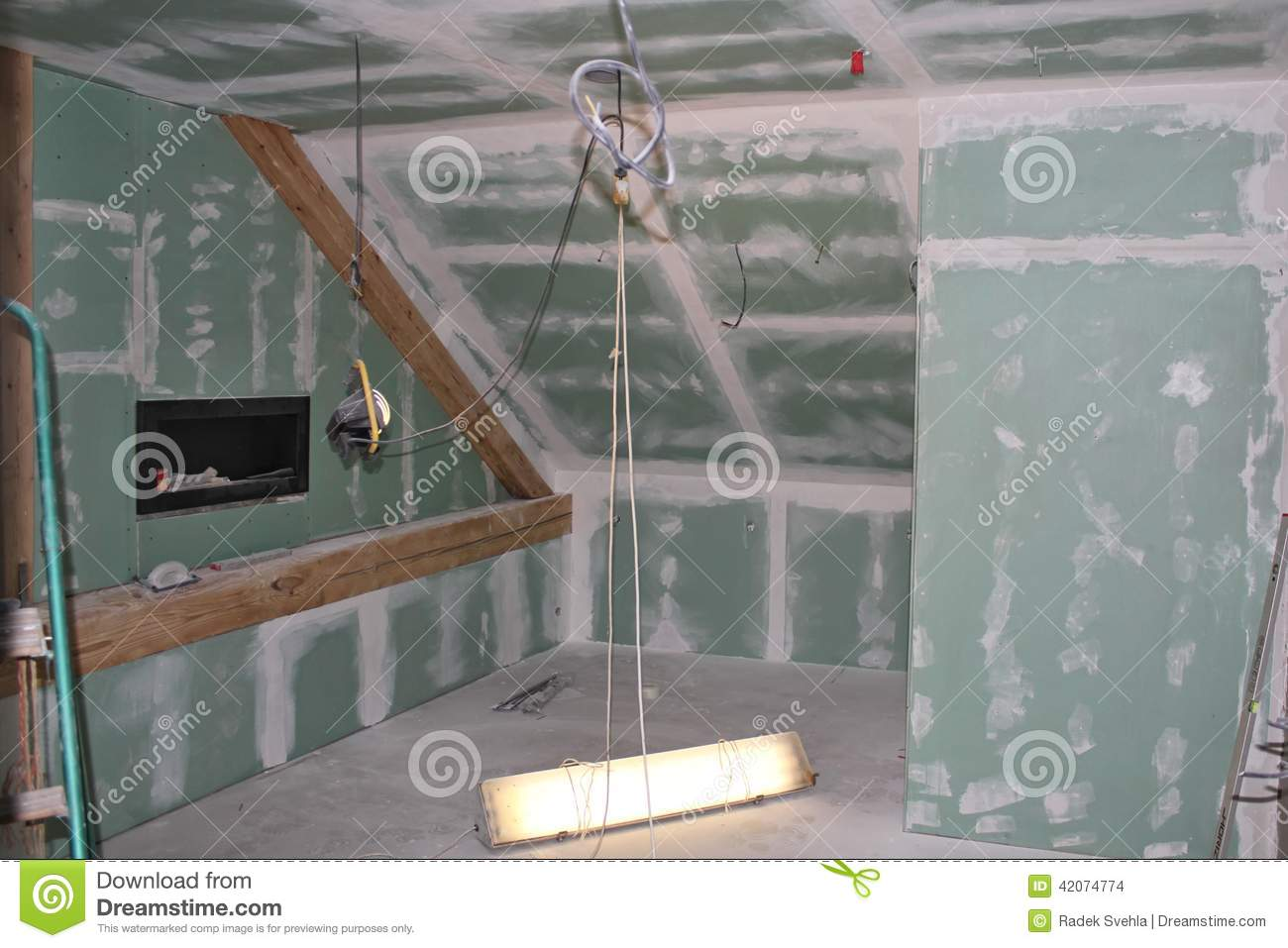 Reconstruction of the attic
