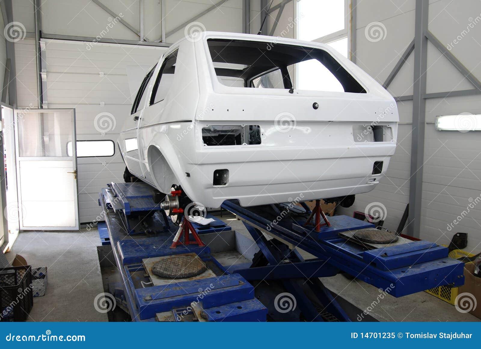 Reconstruction d un véhicule