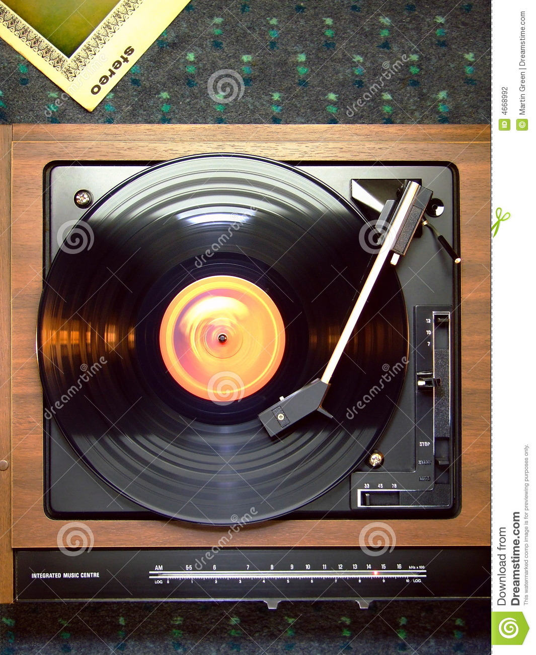 Record Player Stock Photography Image 4668992