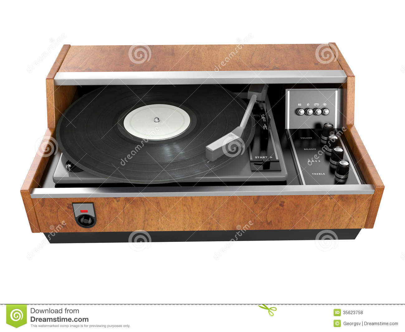 Record Player Royalty Free Stock Photos  Image: 35623758