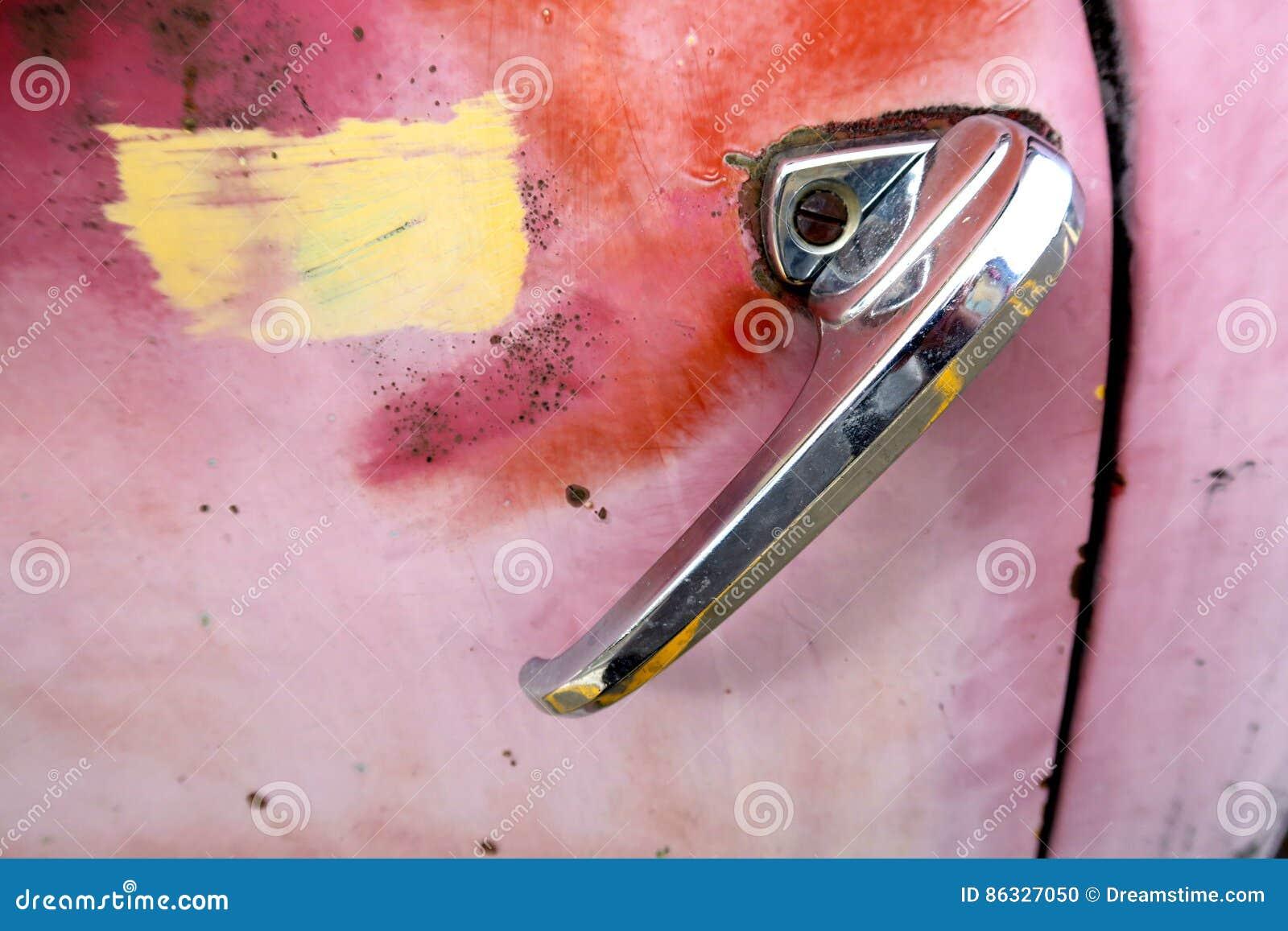 Recordação do punho chevy cor-de-rosa do caminhão
