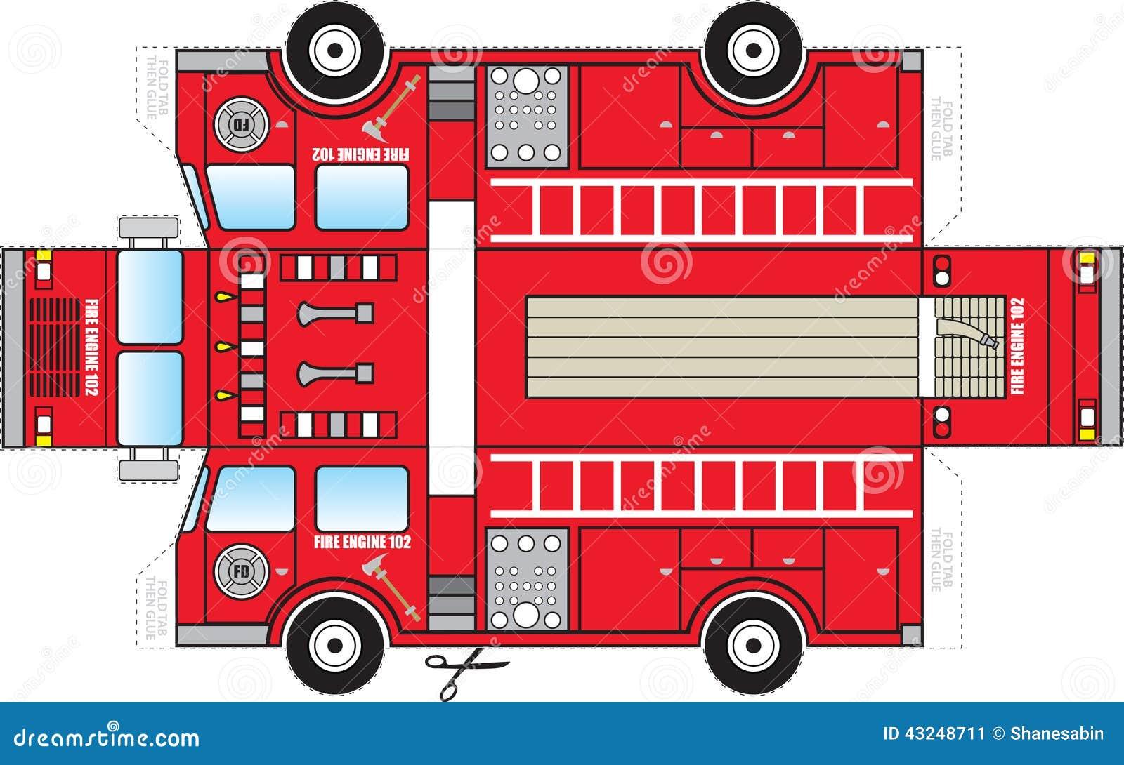 Lujo Simple Camión De Bomberos Para Colorear Imagen - Enmarcado Para ...