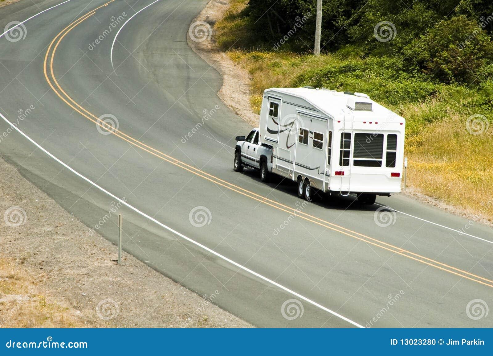 Recreatieve voertuigen op de weg