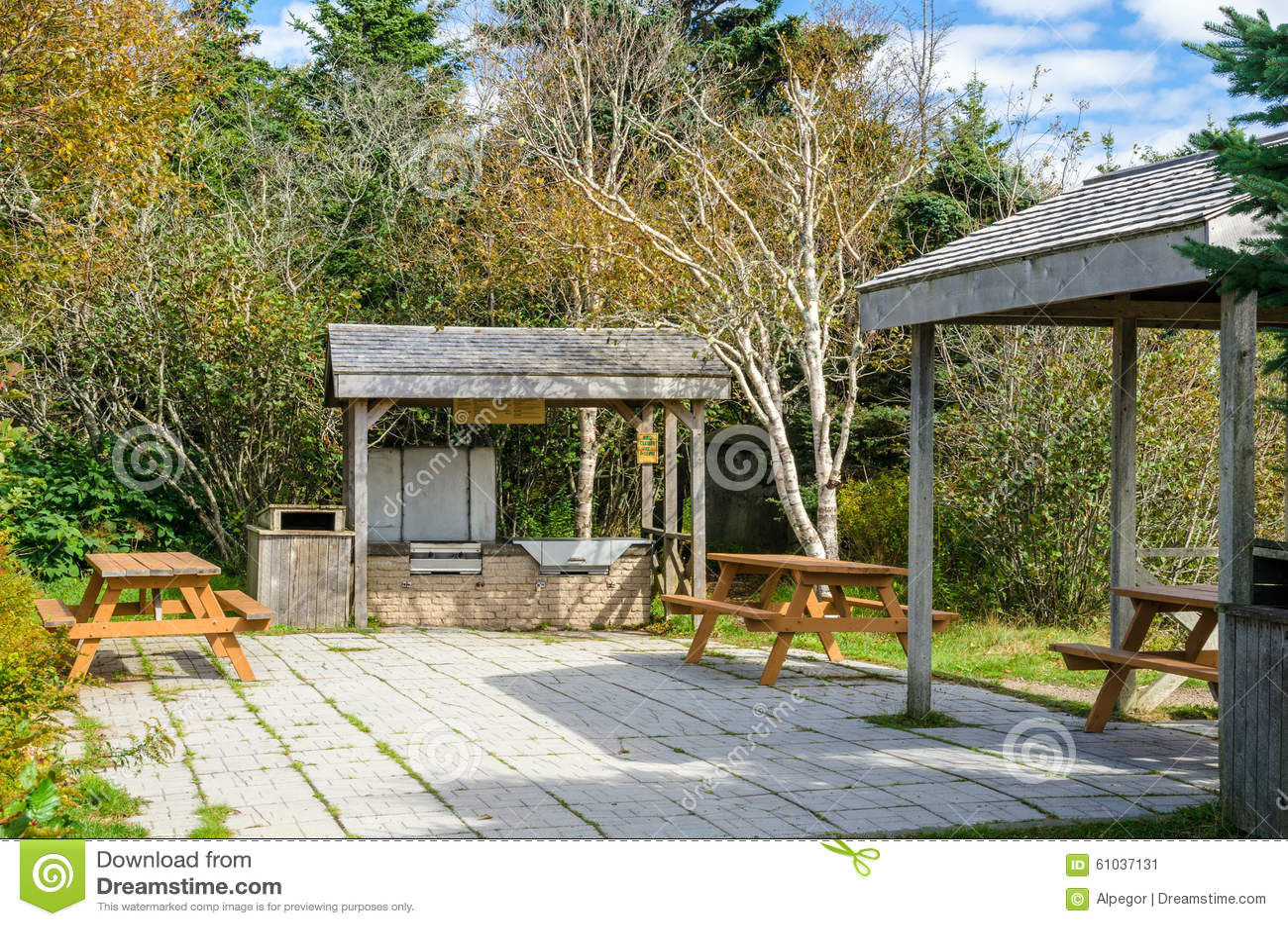 Recreation Area Stock Photo Image 61037131