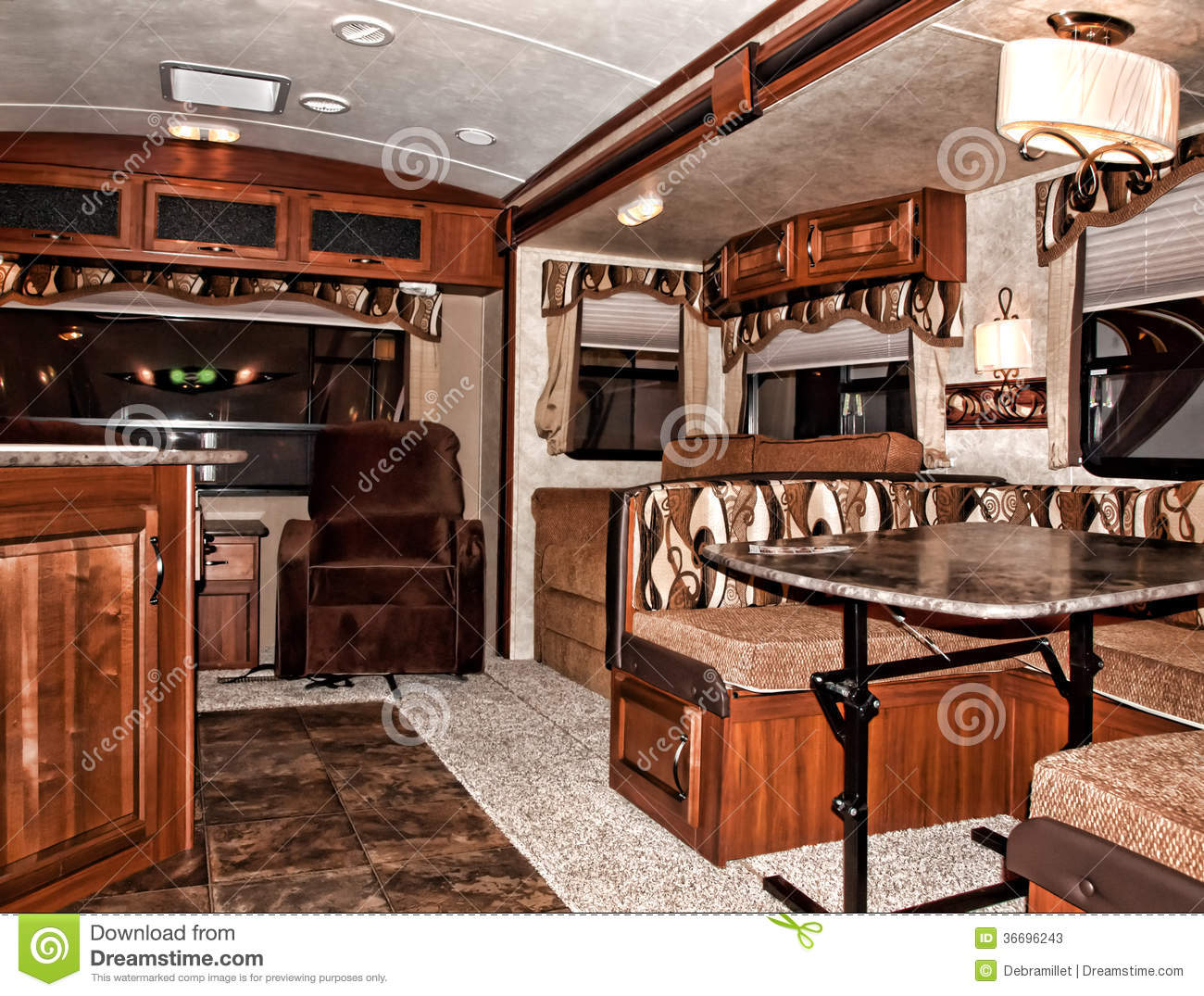 Recreational Vehicle Interior Stock Photos Image 36696243