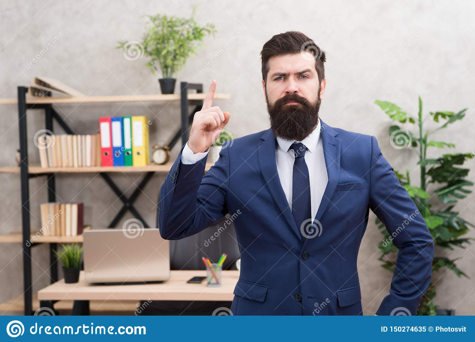 Recruitment department. Job interview. Welcome team member. Recruiter professional occupation. HR manager. Man bearded