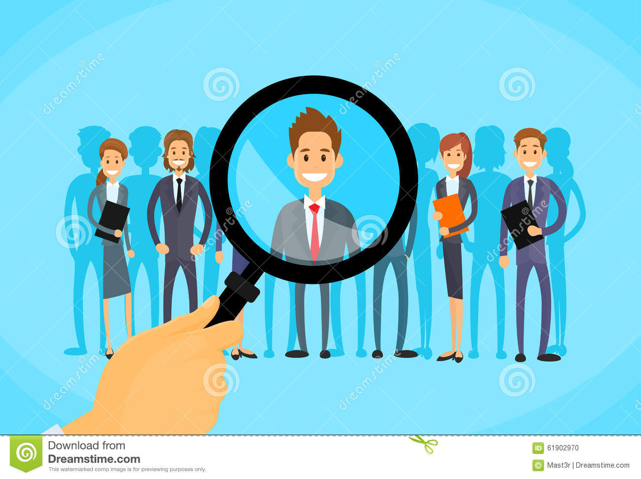 recruitment cartoons  illustrations  u0026 vector stock images