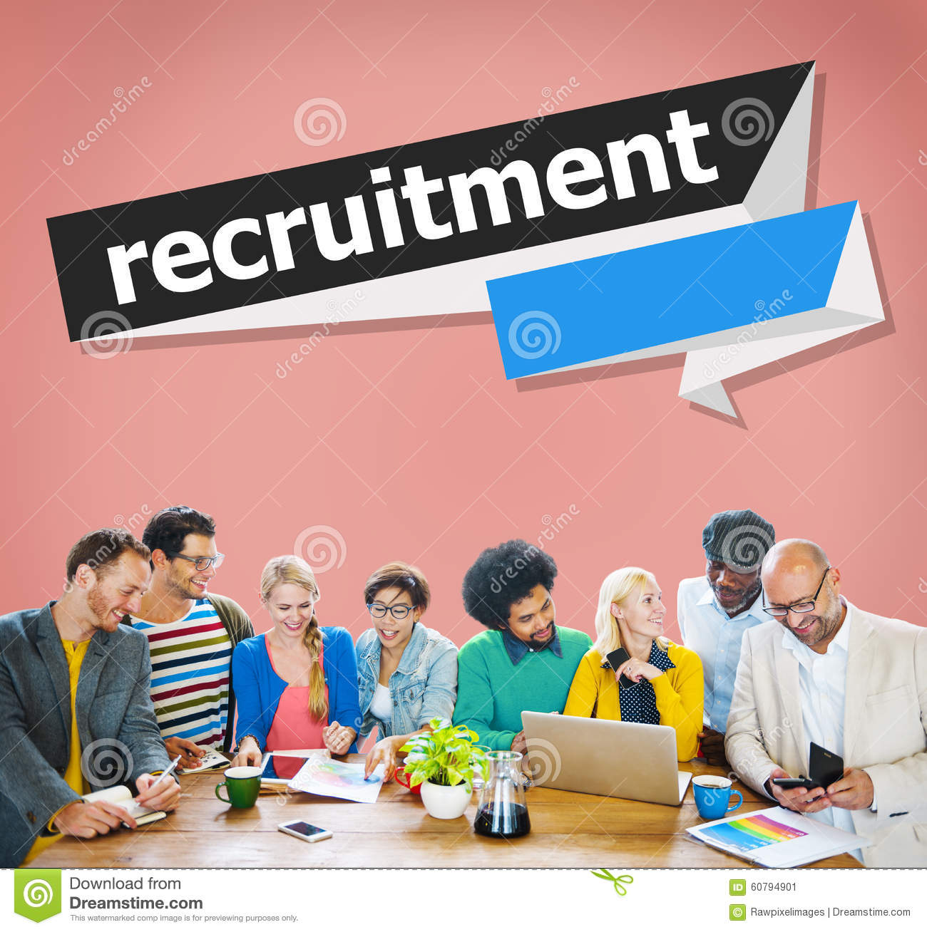 human resources recruitment The recruitment process is an important part of human resource management (hrm) it isn't done without proper strategic planning recruitment is defined as a process that provides the organization with a pool of qualified job candidates from which to choose.
