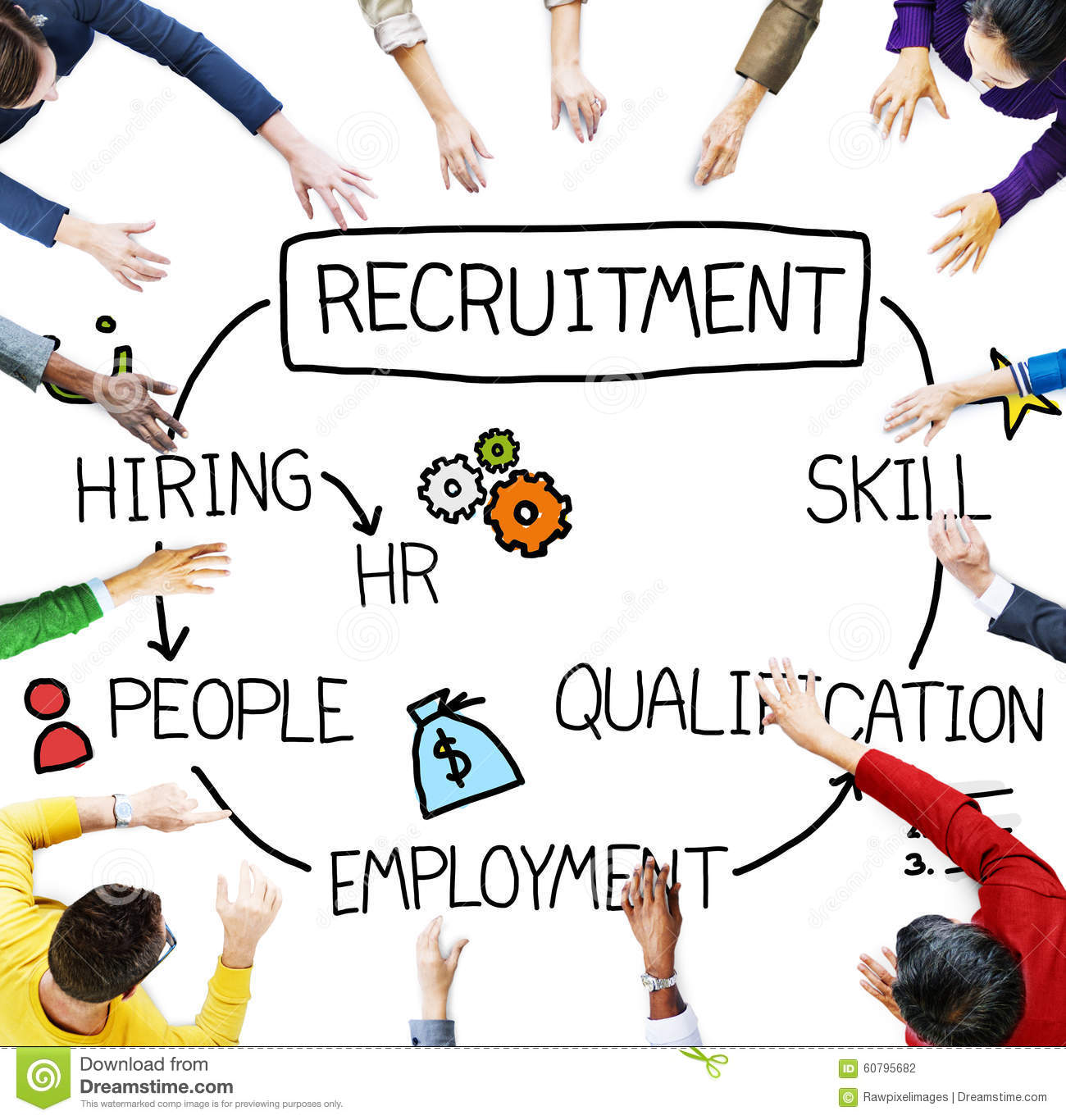 recruitment hiring skill qualification job concept stock photo recruitment hiring skill qualification job concept
