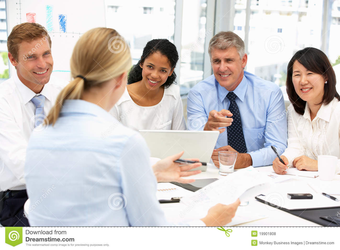 Recruitment Office Meeting Royalty Free Stock Photos Image 19901808