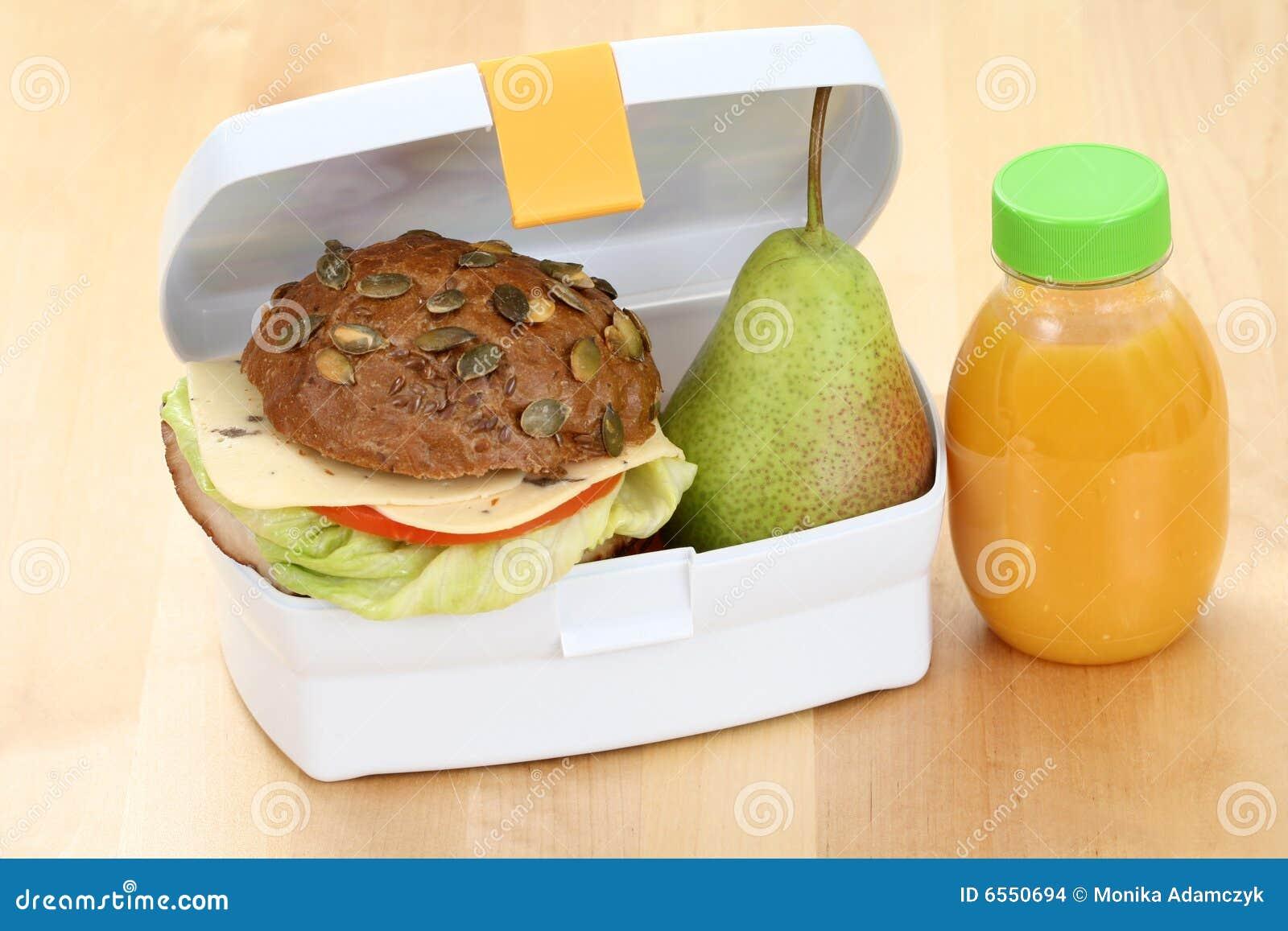 Rectángulo de almuerzo