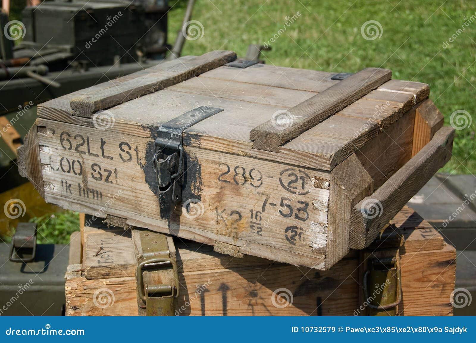 Rectángulo de la munición a partir de la Segunda Guerra Mundial