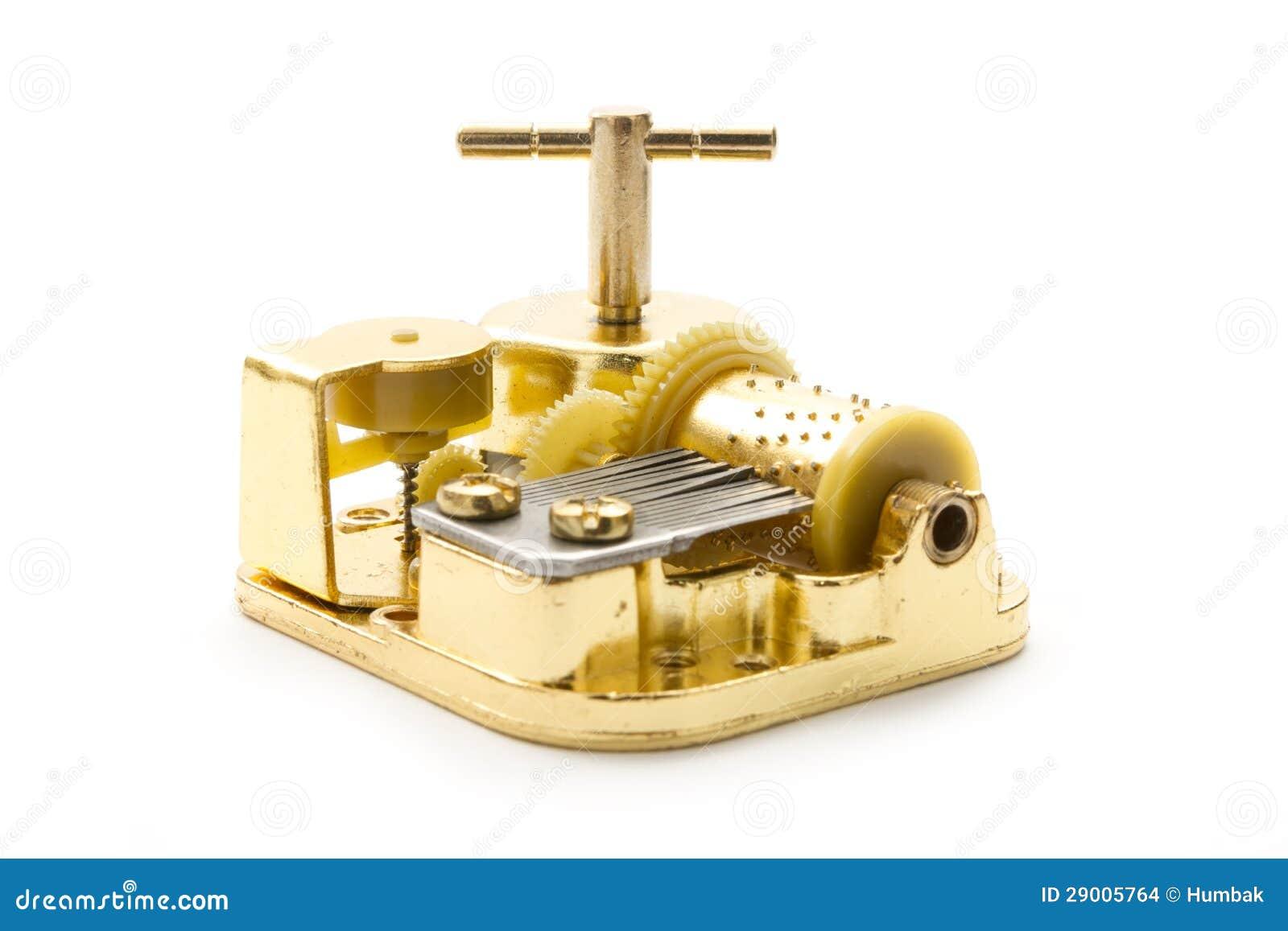 Rectángulo de música de oro