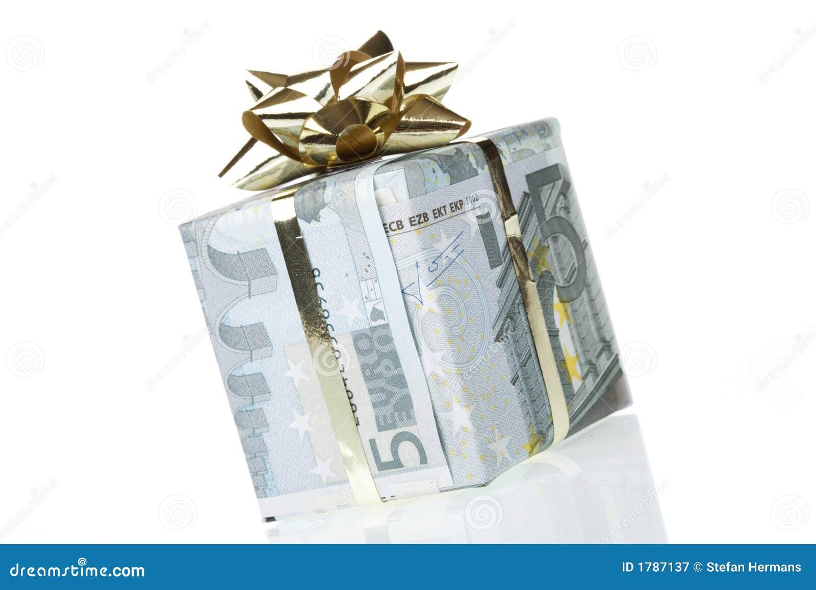 Rectángulo de regalo del euro 5