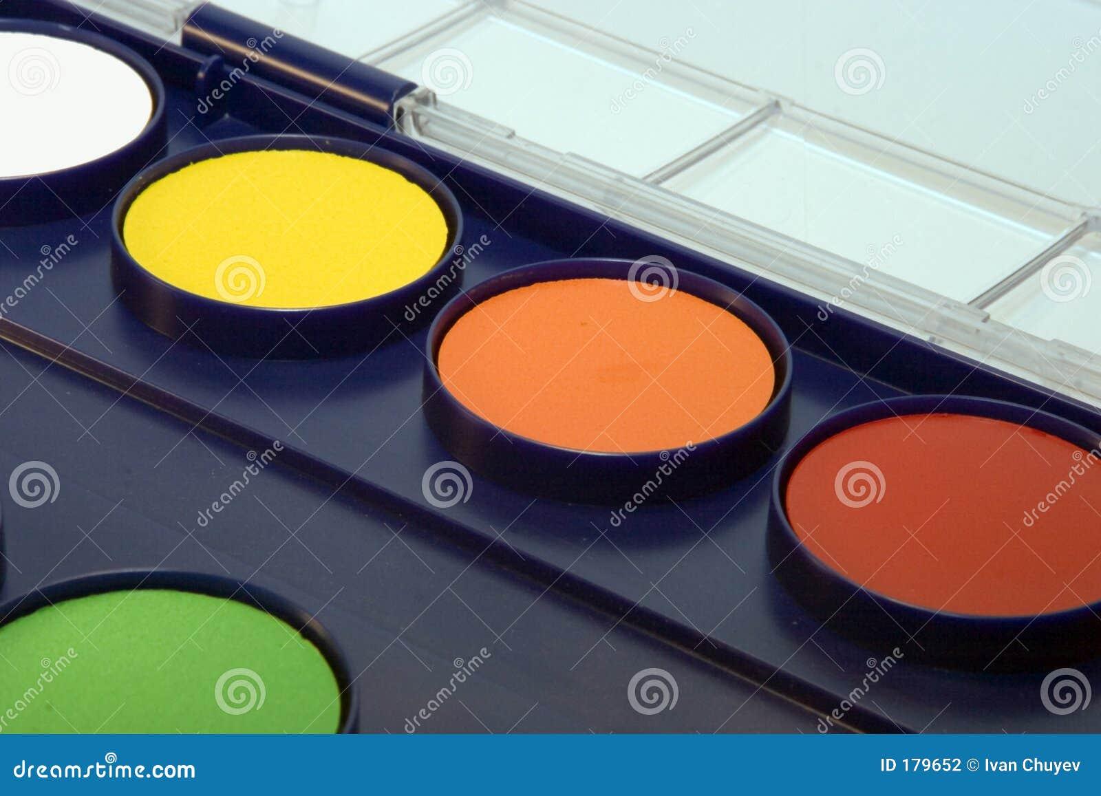 Rectángulo del Water-colour