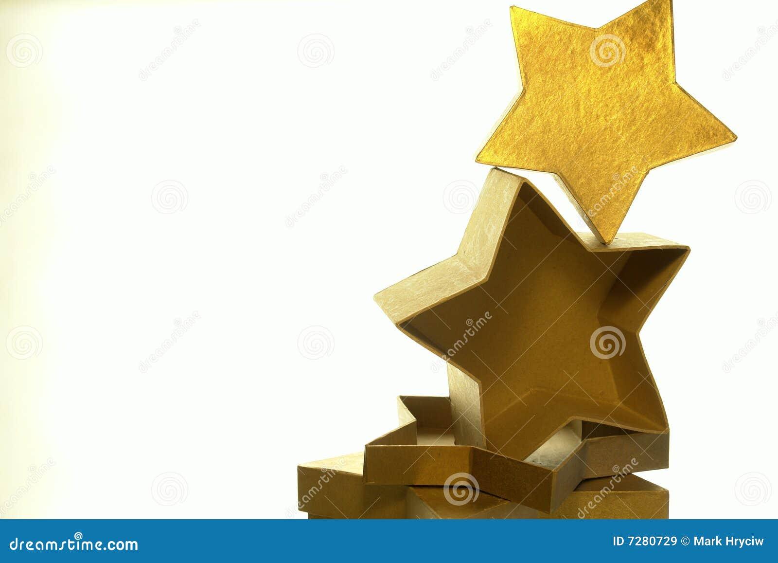 Rectángulos de la estrella del oro