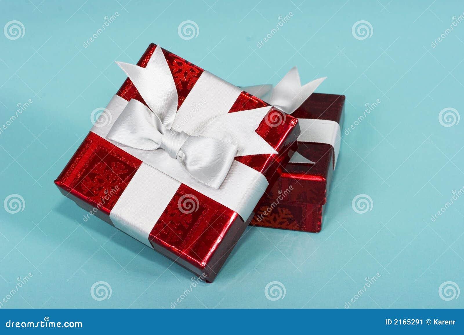 Rectángulos de regalos