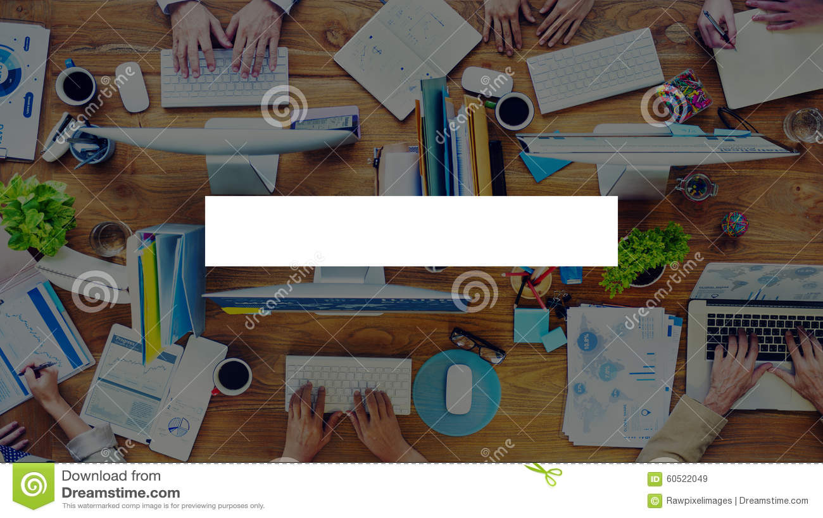 Rectangle Copy Space Bar Blank Rectangular Concept Stock Image