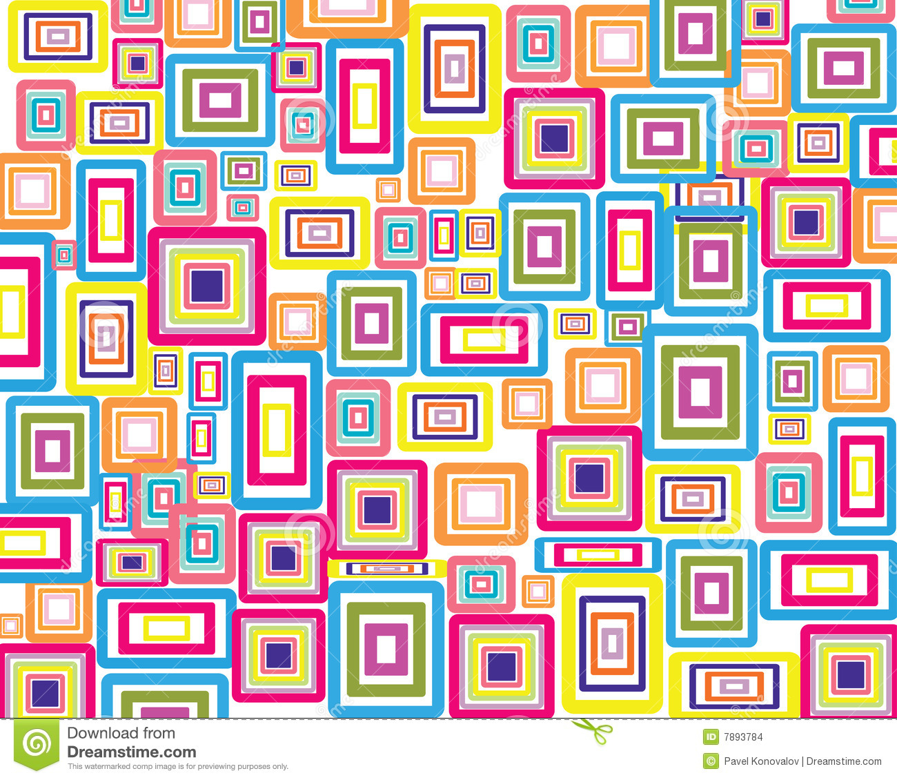 Rectangles Background Stock Images - Image: 7893784