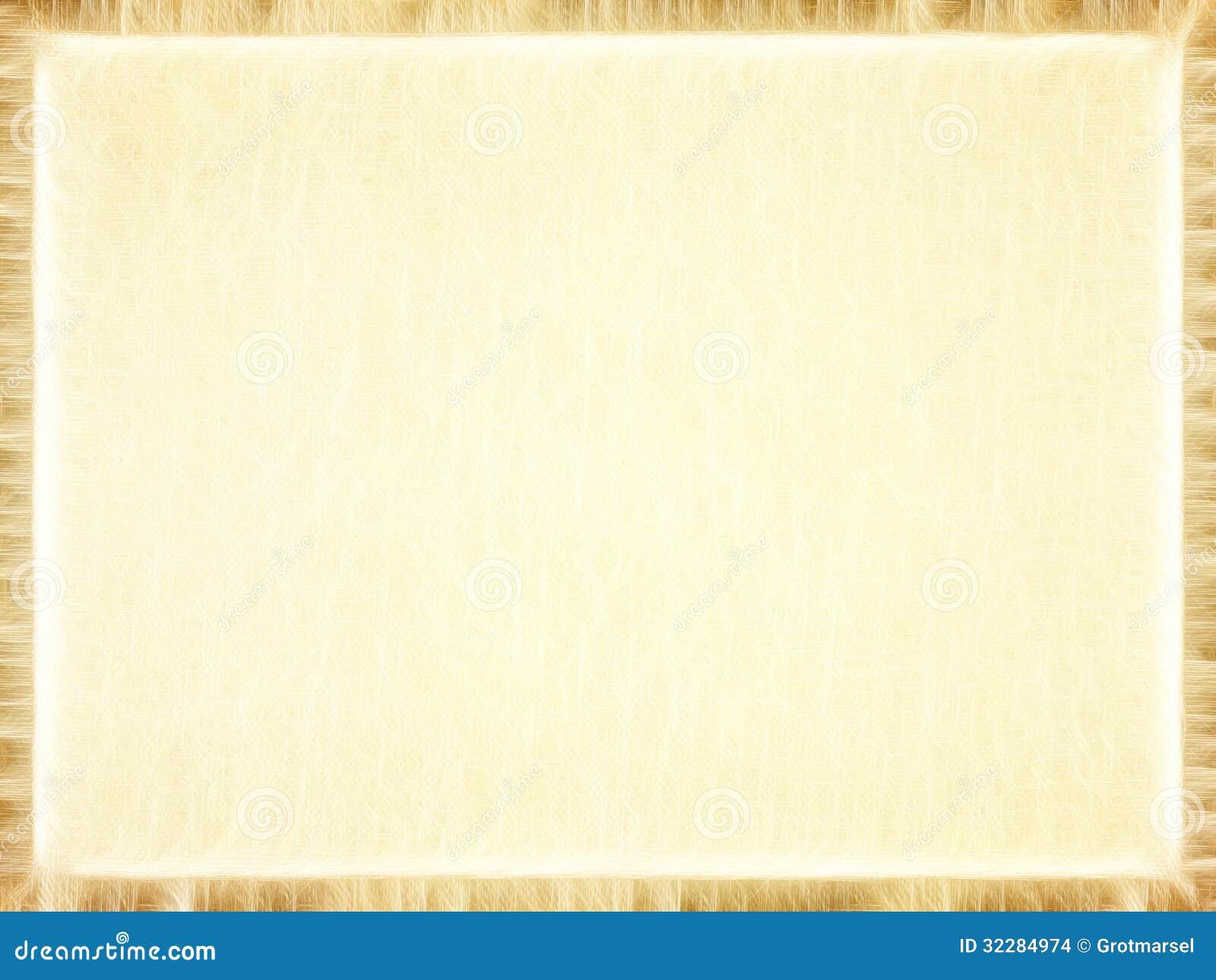 Rectangular Empty Old Paper Photo Frame.Background. Stock ...