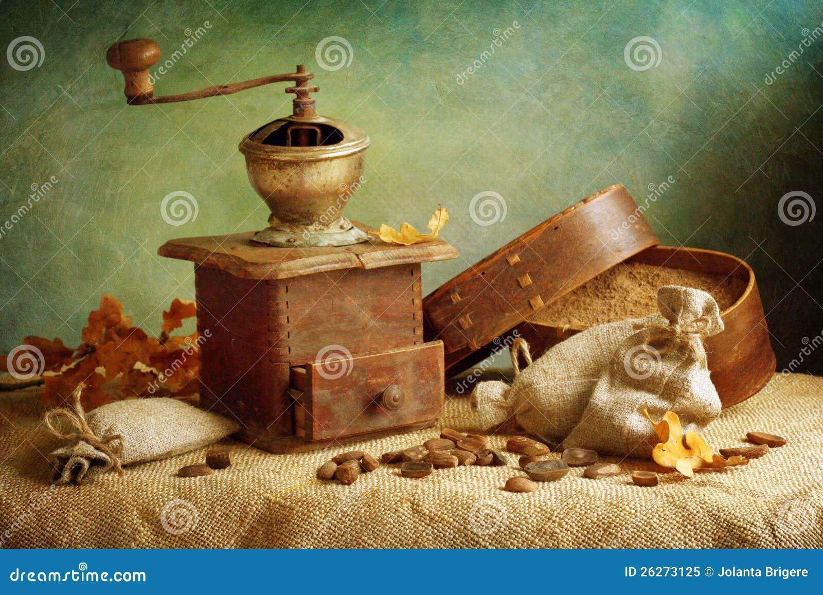 Rectifieuse de café antique