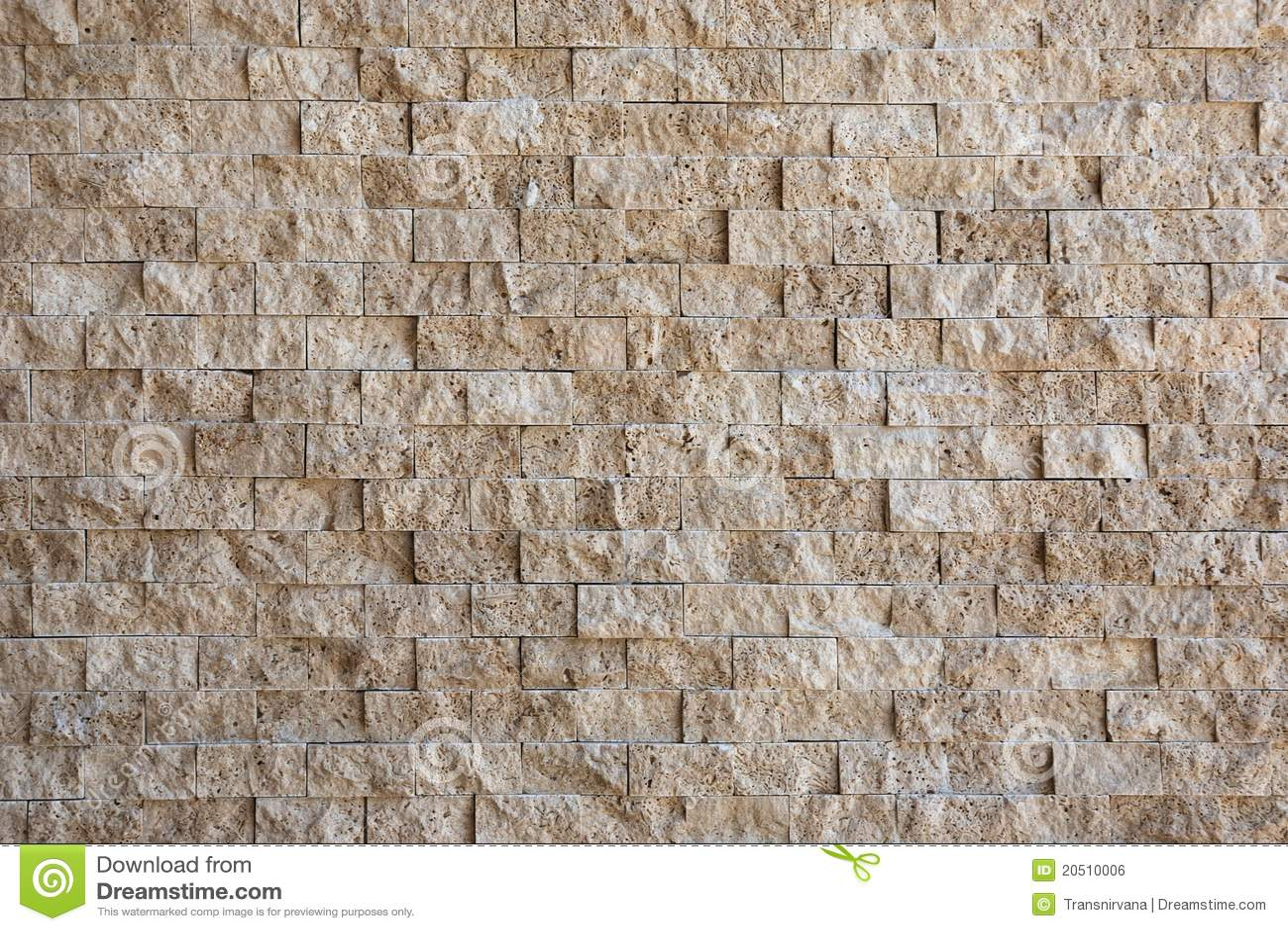 recubrimiento de paredes de piedra amarillento foto de