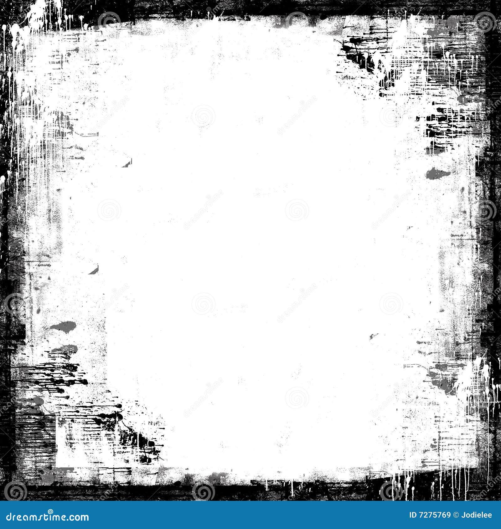 Recubrimiento pintado textura de la máscara del marco de Grunge