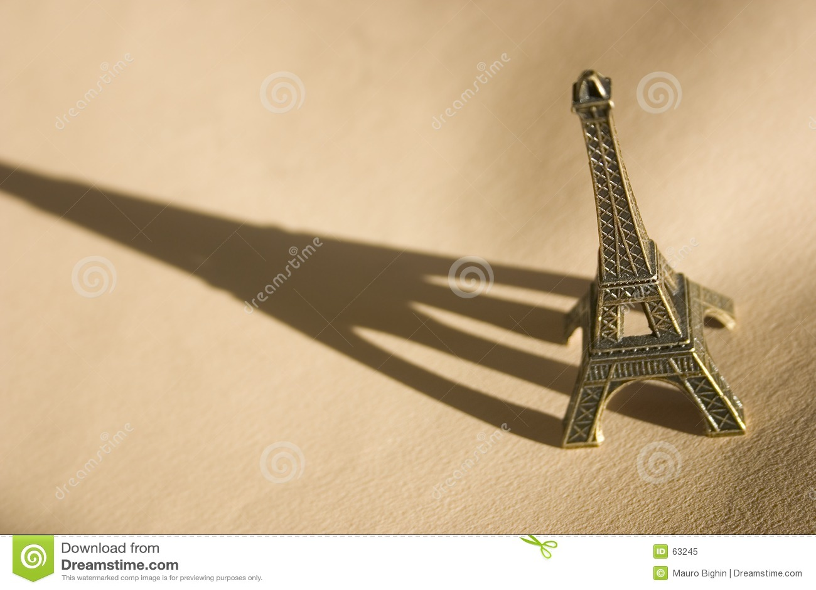 Recuerdo de la torre Eiffel