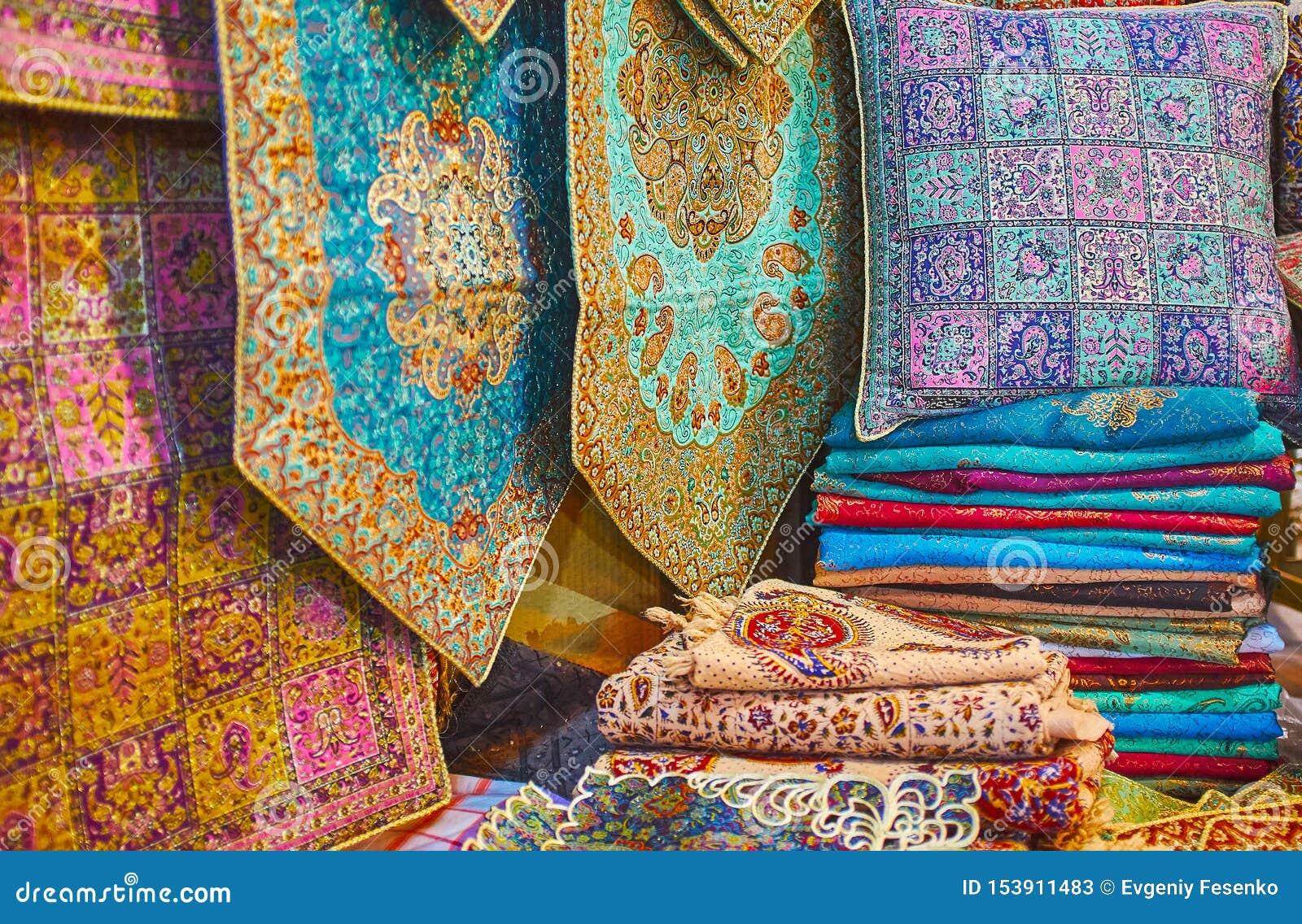 Recuerdos del brocado de Shiraz, Irán