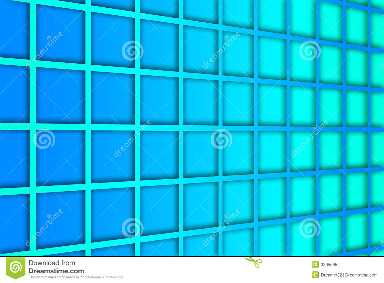 Blue square pattern background - photo#12