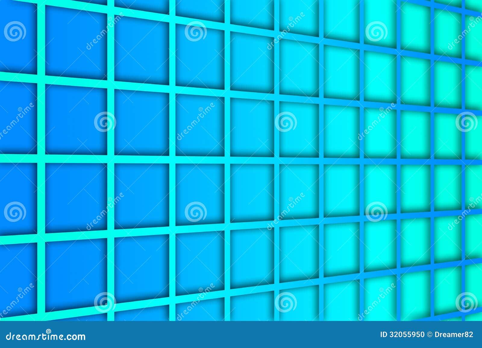 Blue square pattern background - photo#12