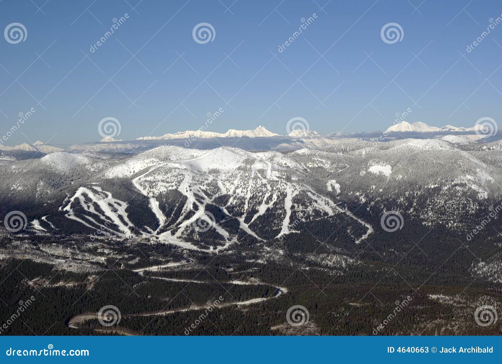 Recurso de montanha grande
