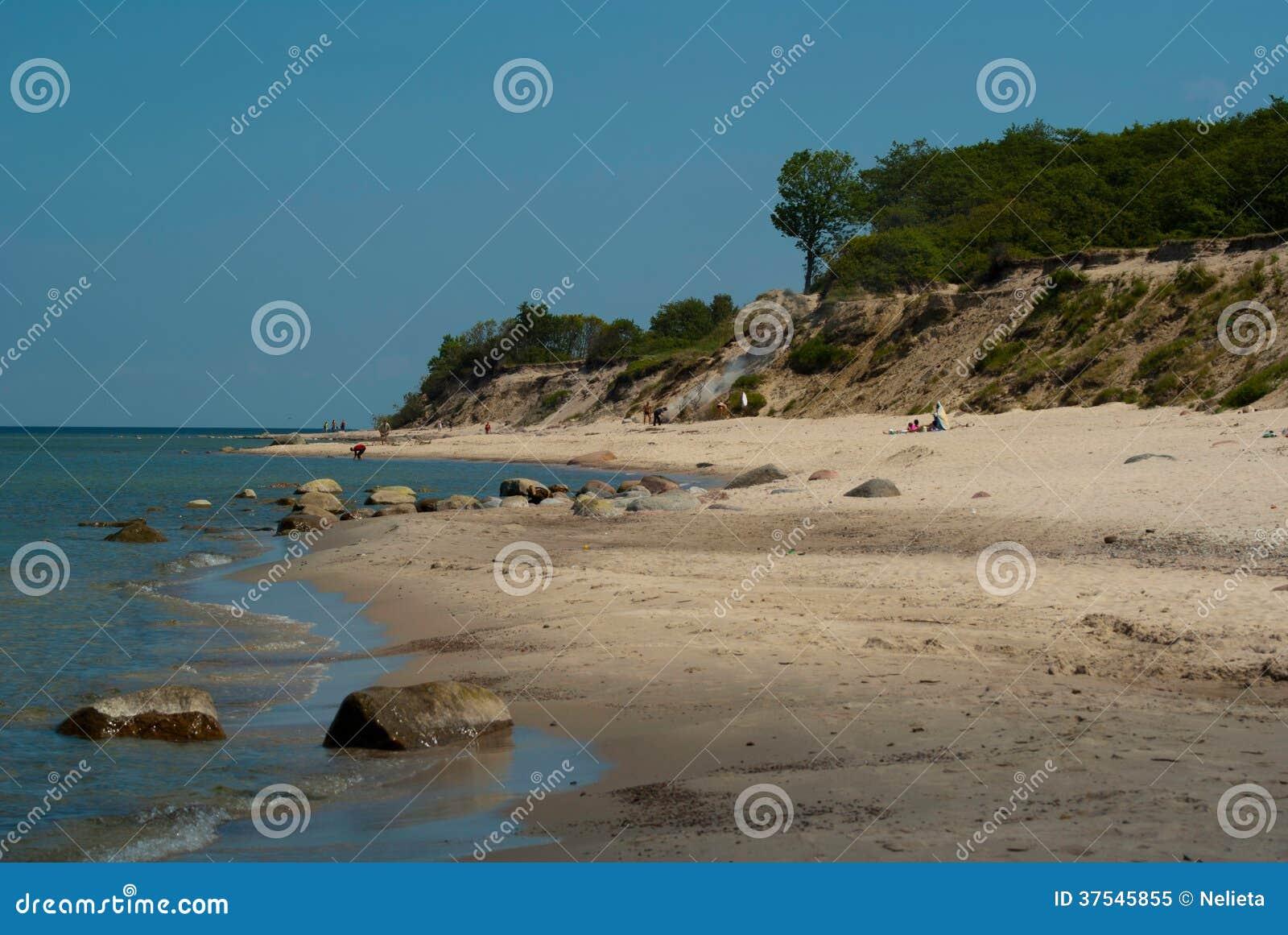 Recurso do mar Báltico de Pionersky