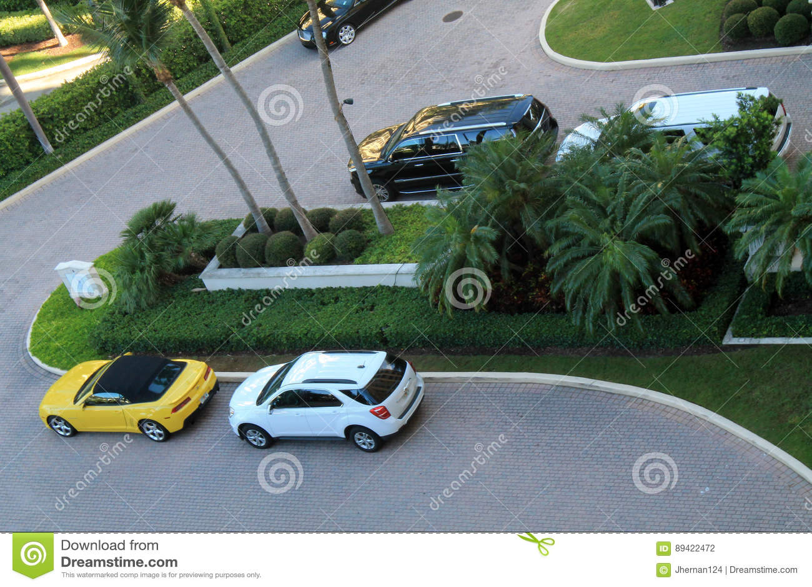 Recurso e carros de Key Biscayne