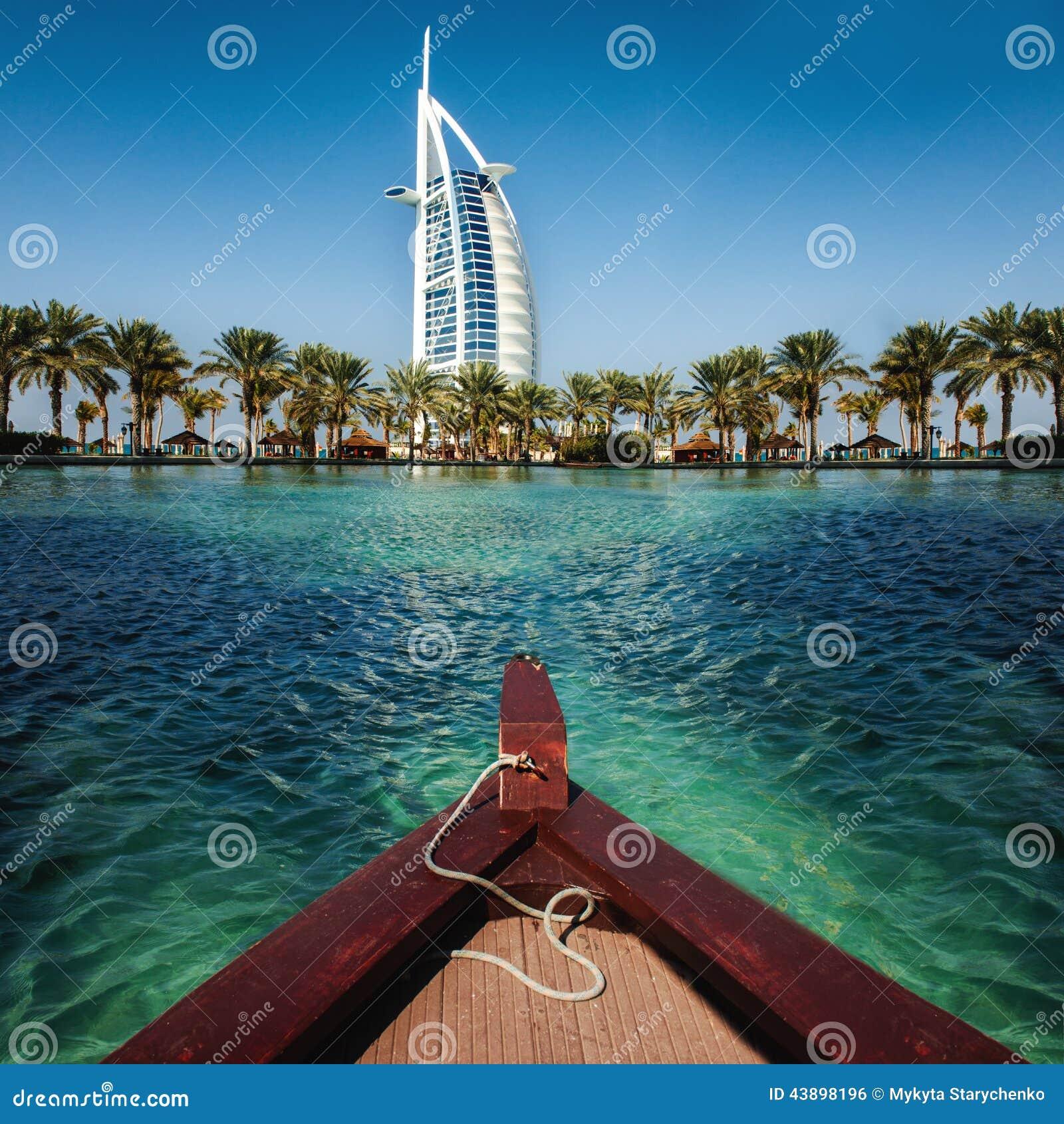 Recurso e termas luxuosos do lugar para férias em Dubai, UAE