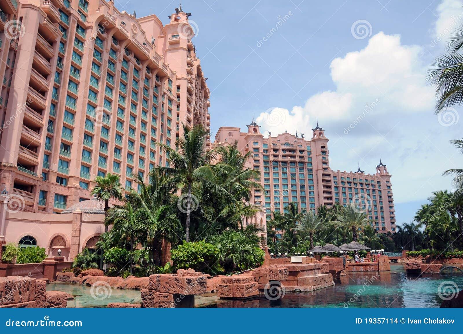 Recurso luxuoso de Atlantis nos Bahamas