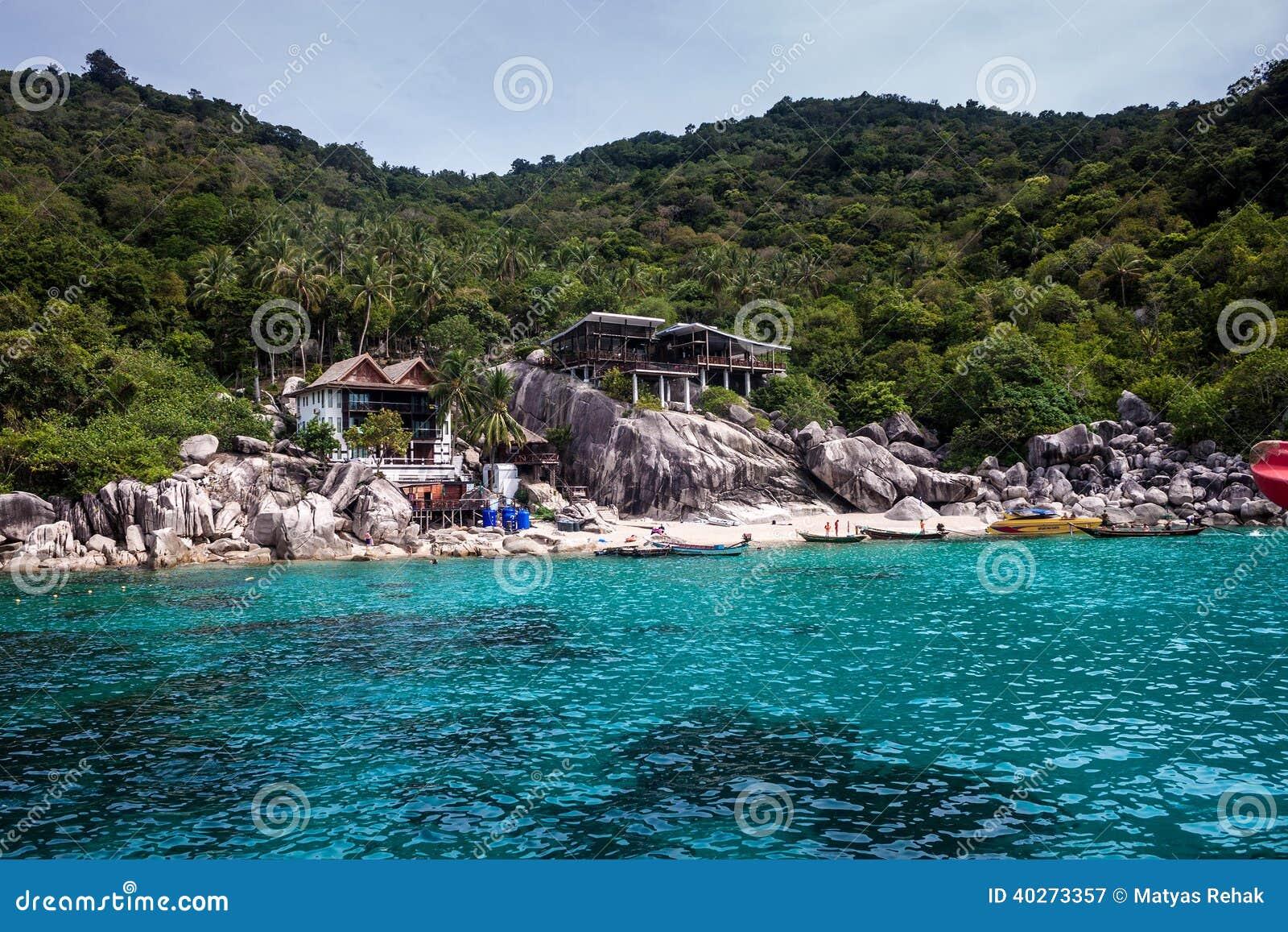 Recurso tropical em Ko Tao