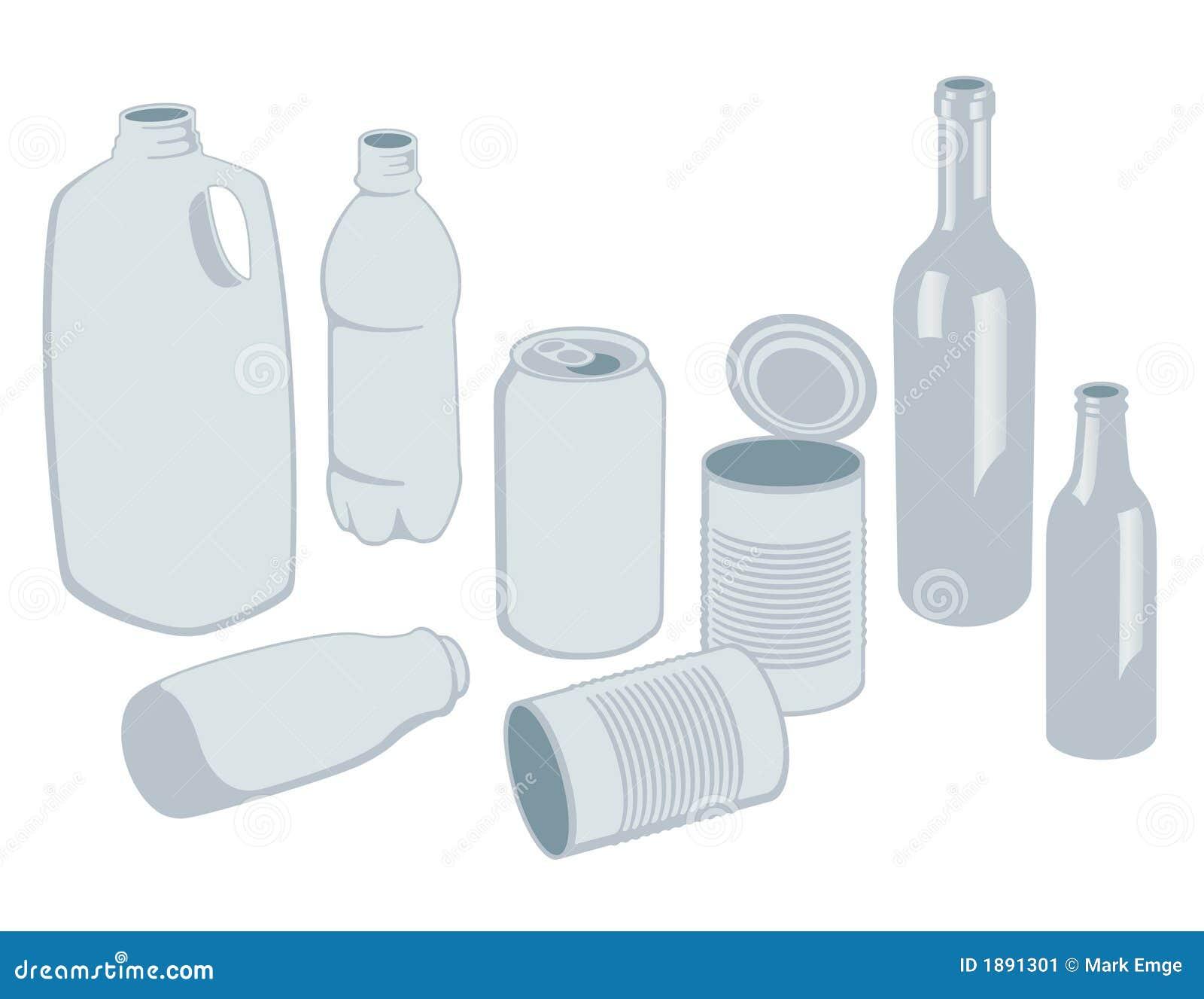 Recyclablesvektor