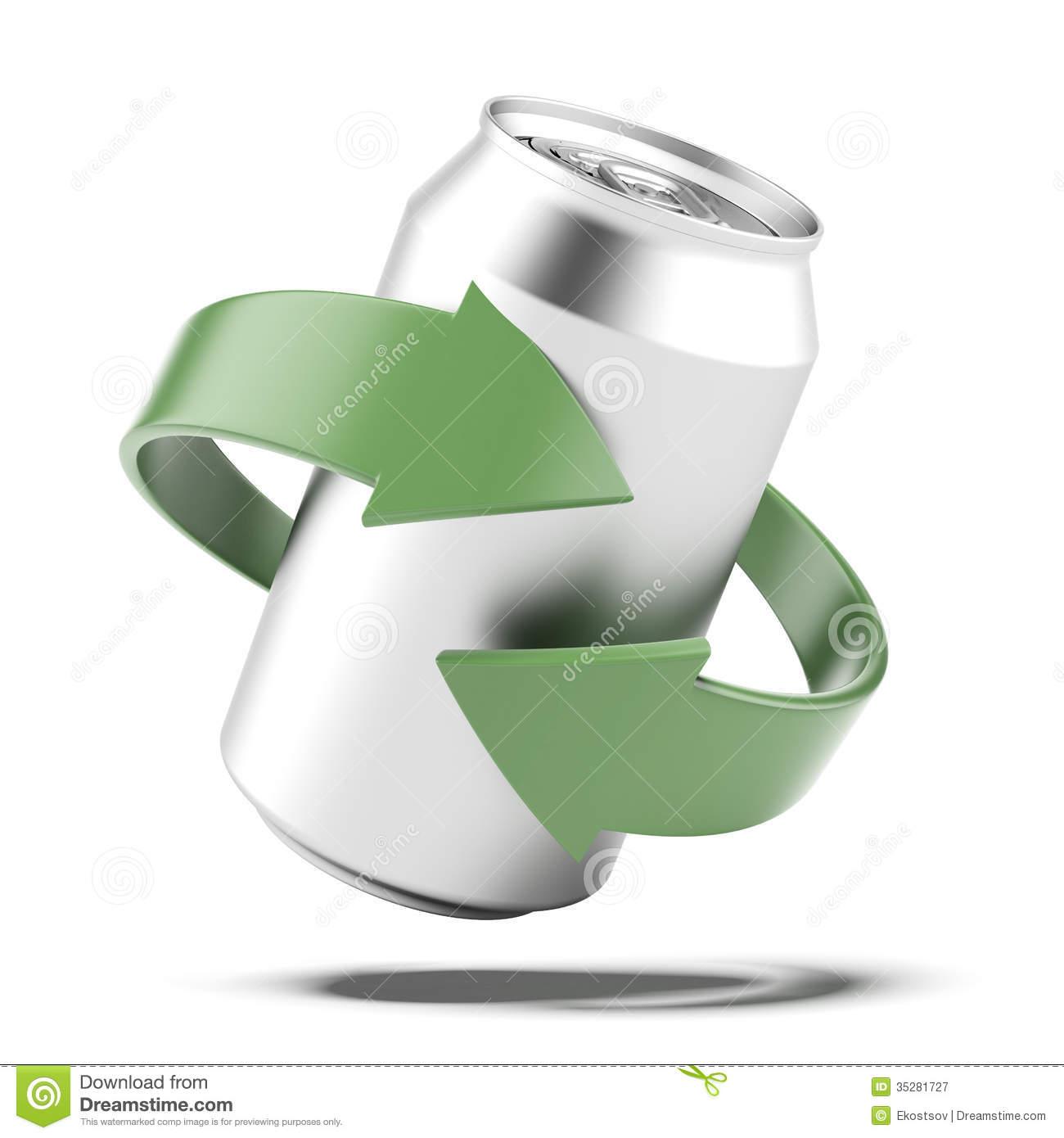 Recycle Can Royalty Free Stock Photography - Image: 35281727
