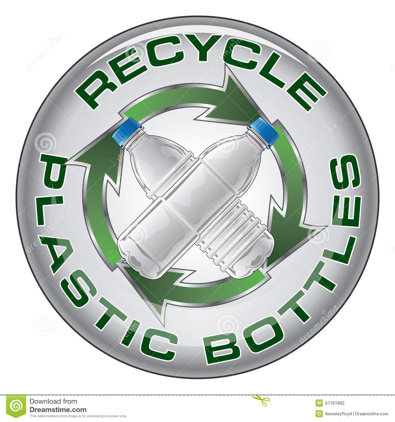 Recycle plastic design stock vector illustration of reuse 47161892 recycle plastic design buycottarizona Choice Image