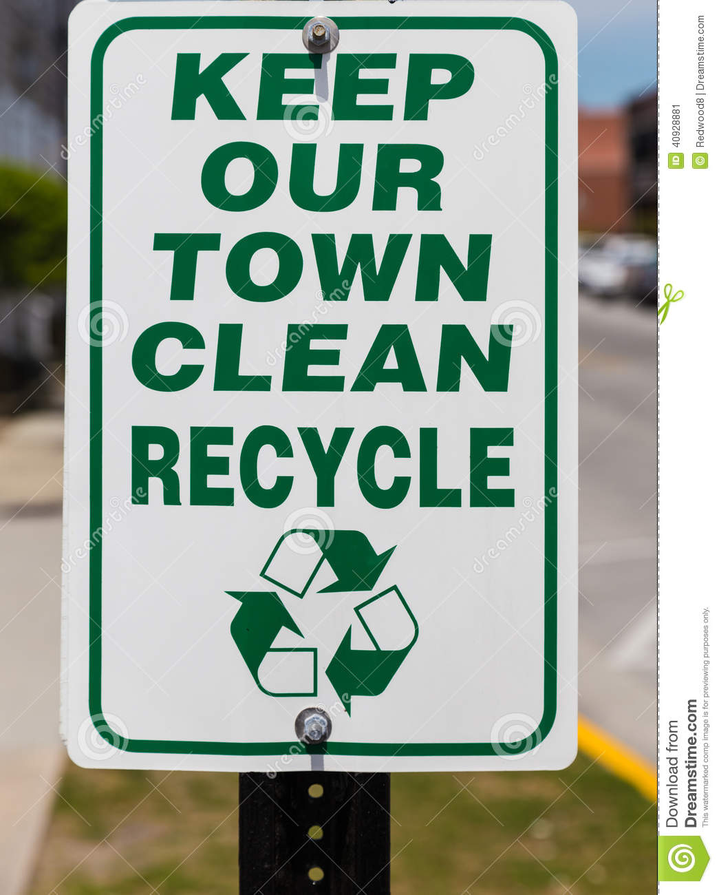 How to keep our town clean