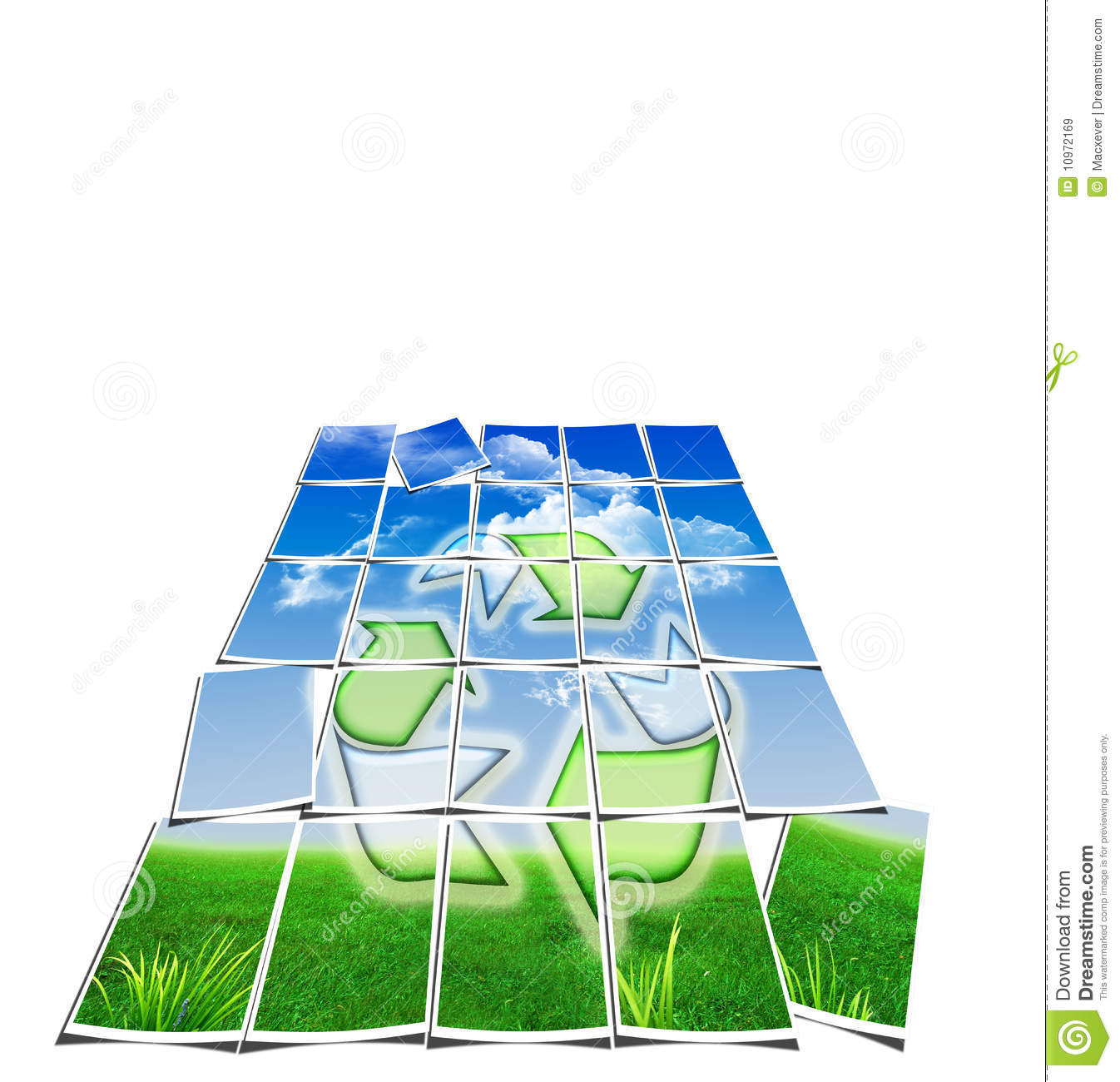 Recycle Symbol Wallpaper - Air, Water, Earth Royalty Free Stock Images ...