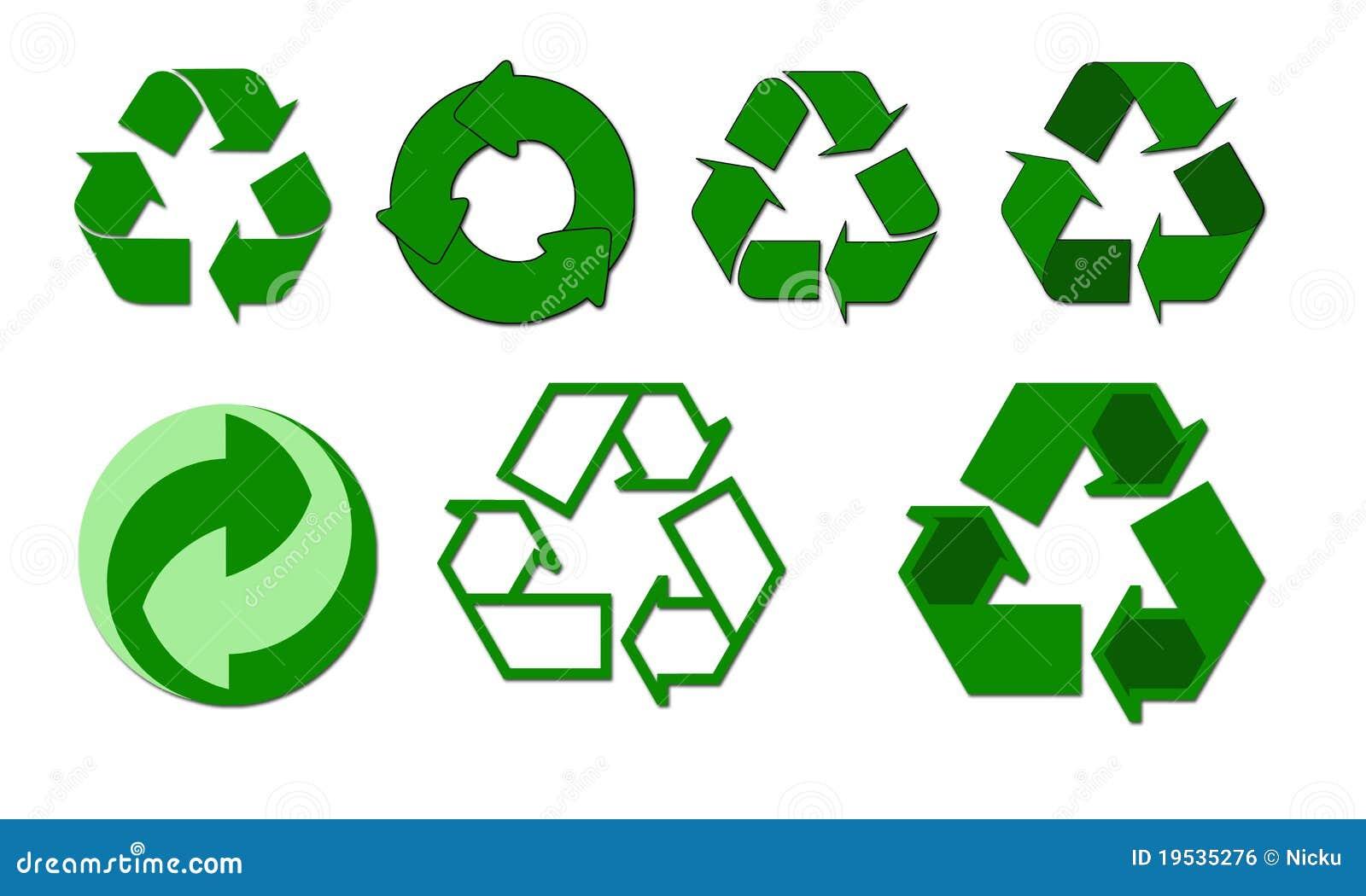 Recycle Symbols Stock Illustration Illustration Of Humanity 19535276