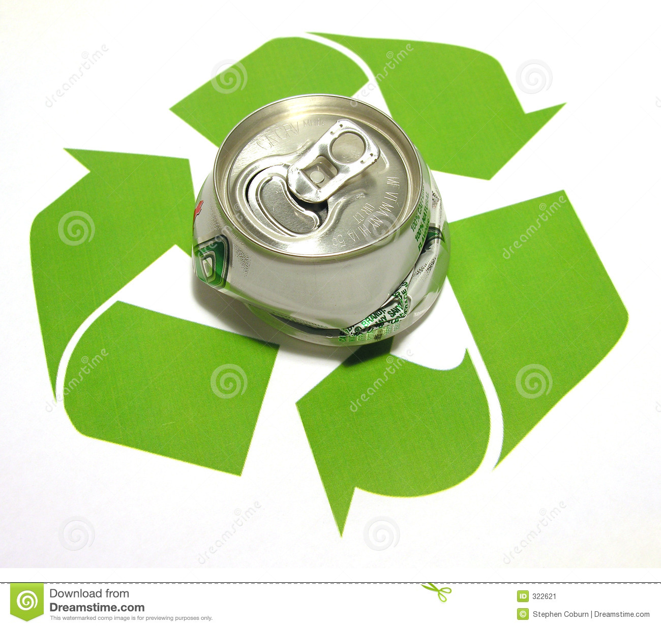 recycle theme stock image