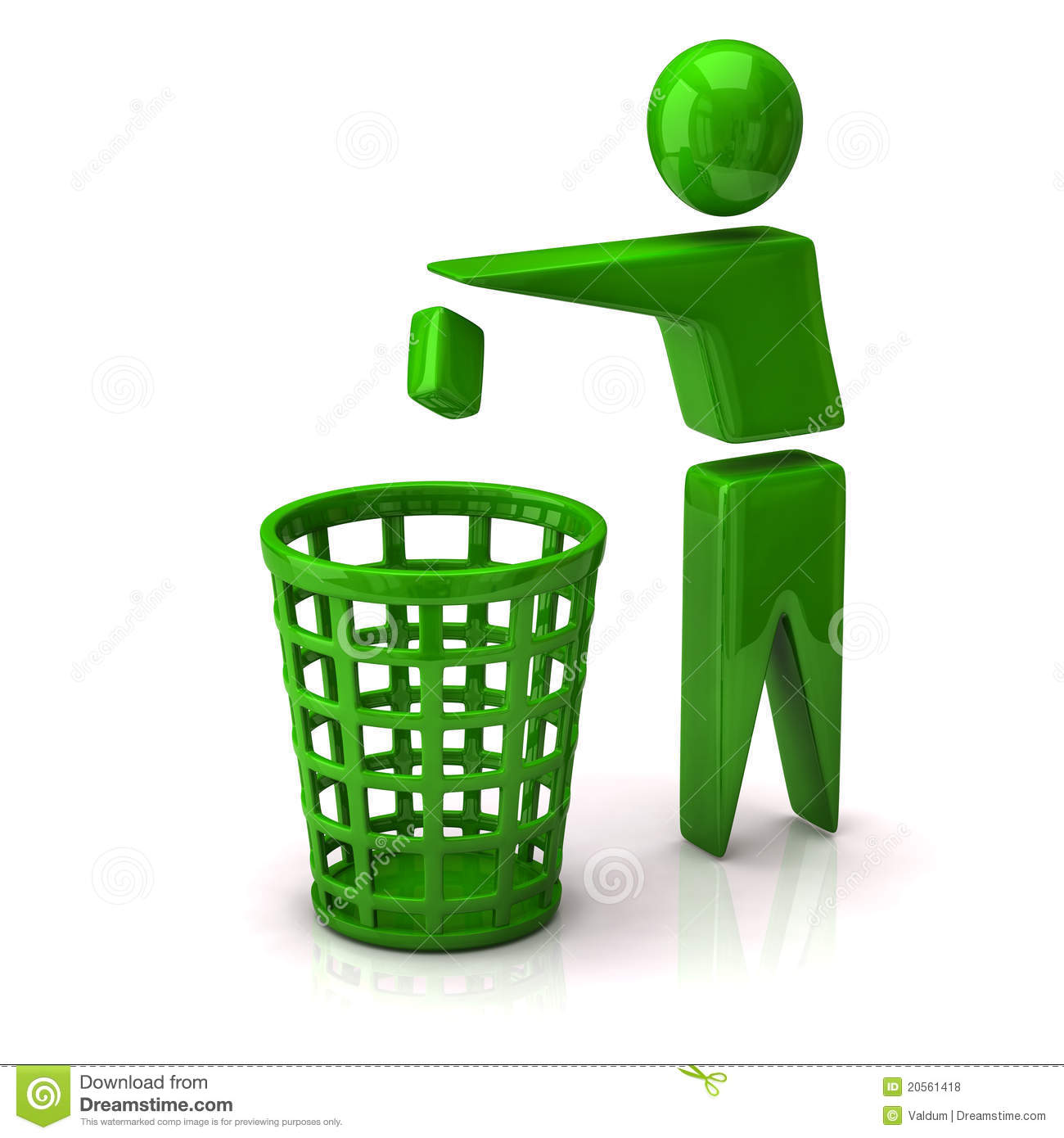Recycle Trash Icon Royalty Free Stock Photos - Image: 20561418