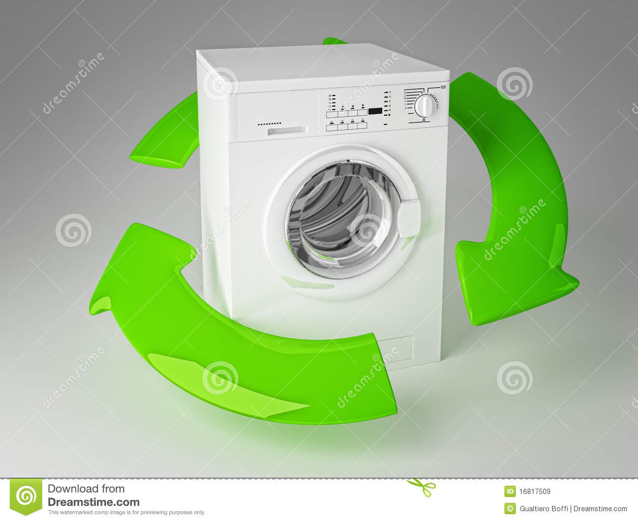 recycle washing machine for